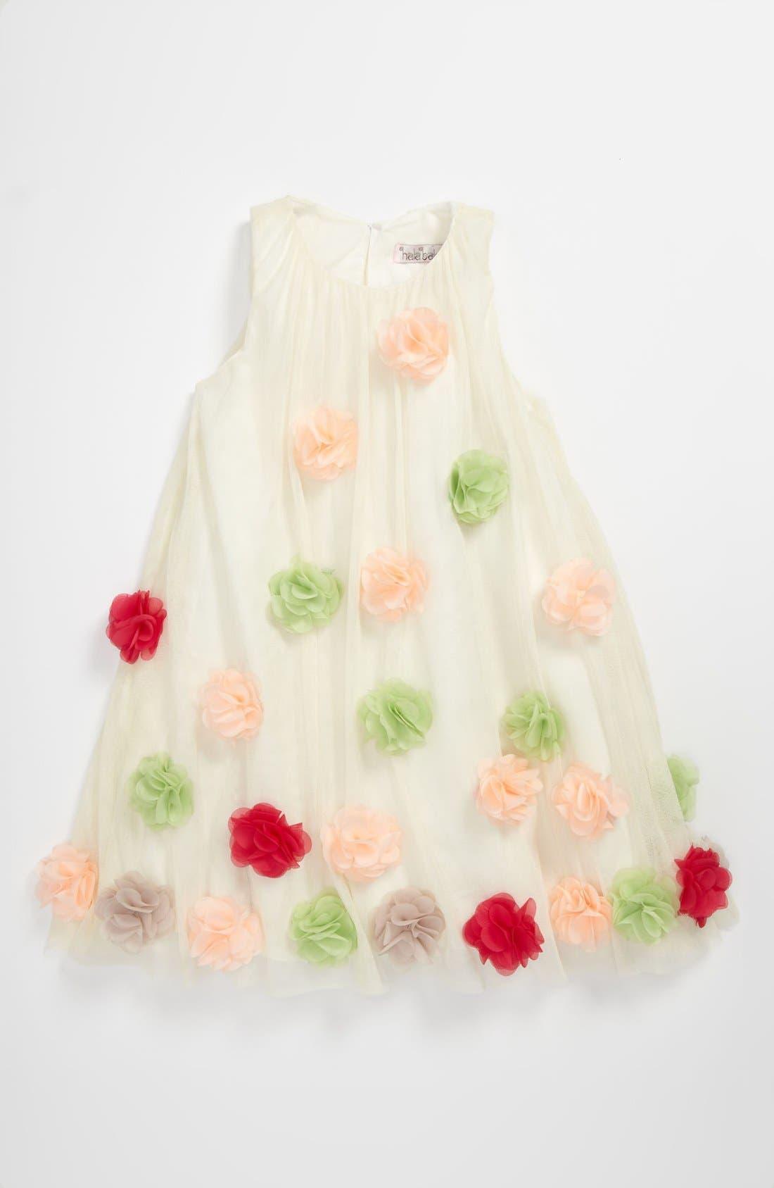 Alternate Image 1 Selected - Halabaloo Swing Dress (Little Girls)