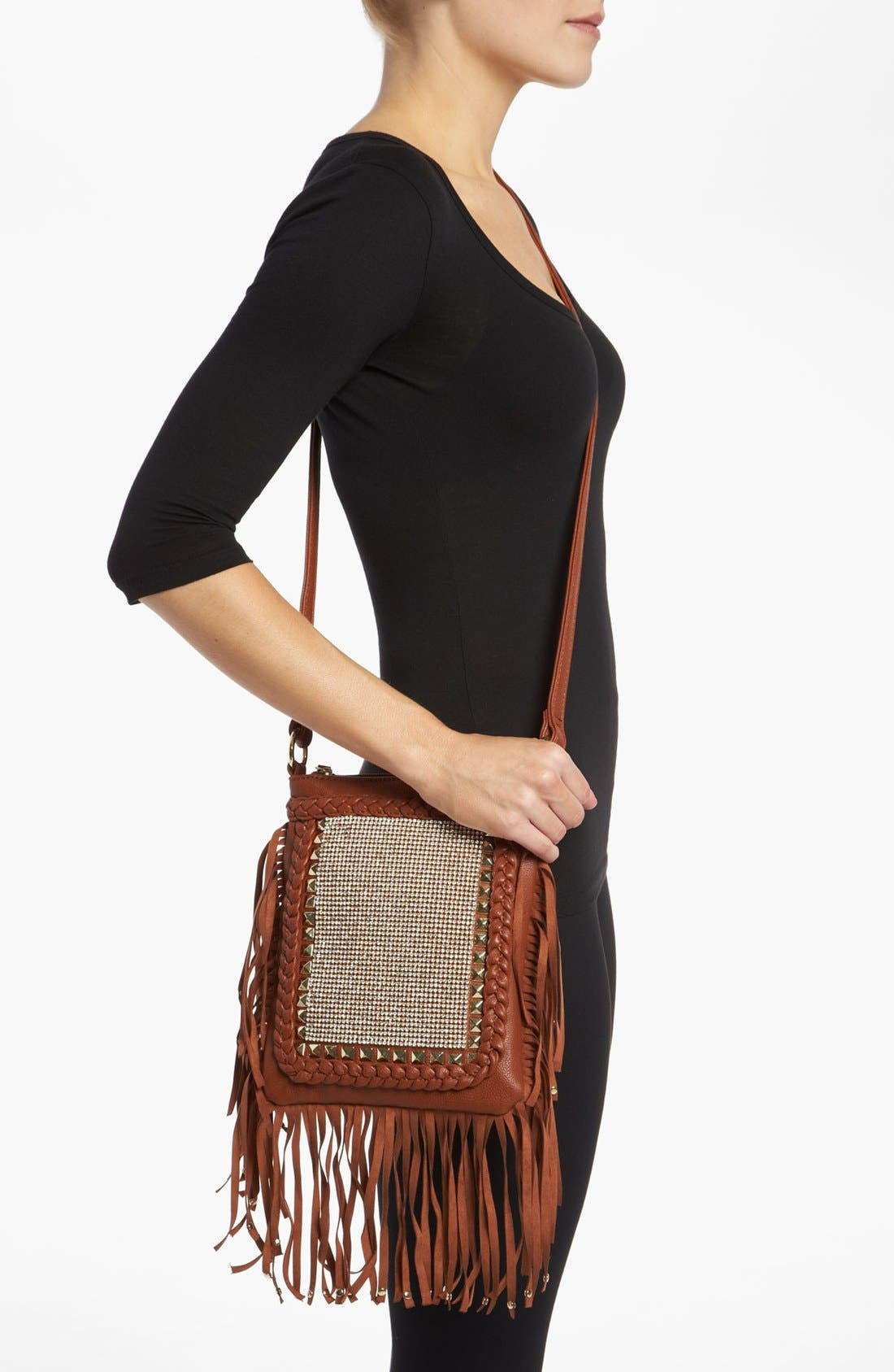 Alternate Image 2  - Steve Madden Fringe Crossbody Bag