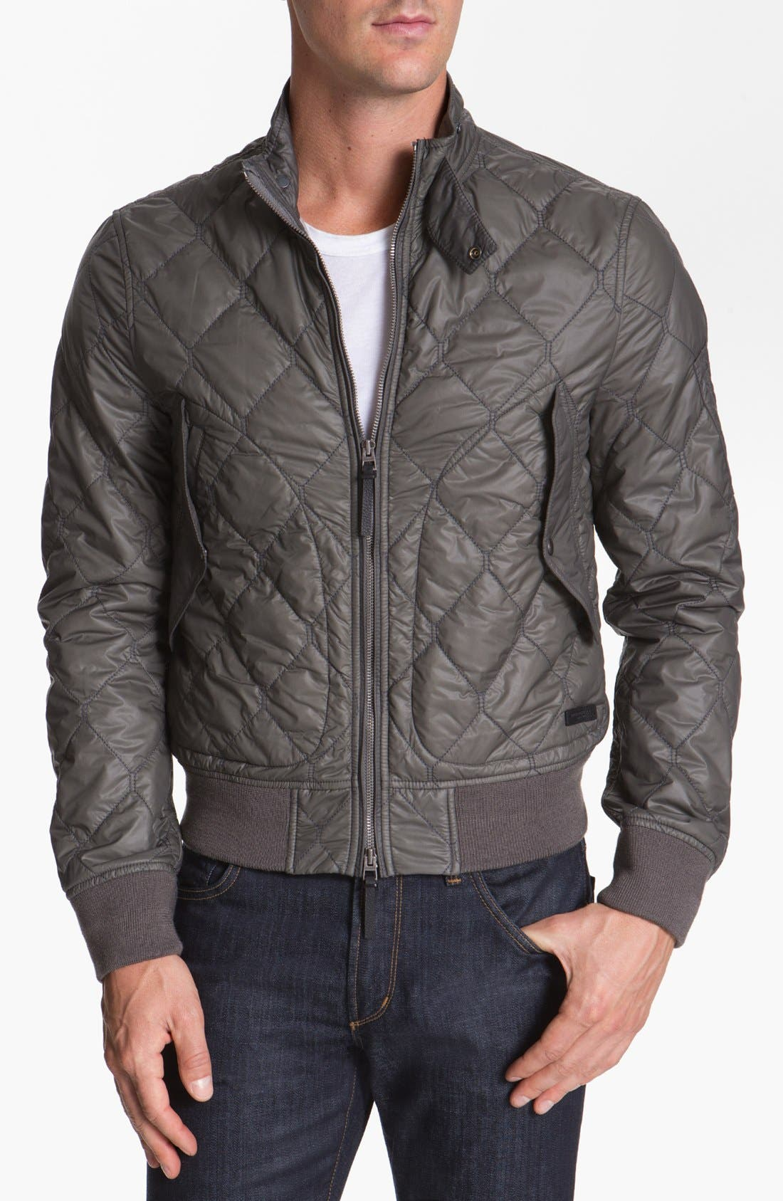 Main Image - Burberry Brit Quilted Jacket