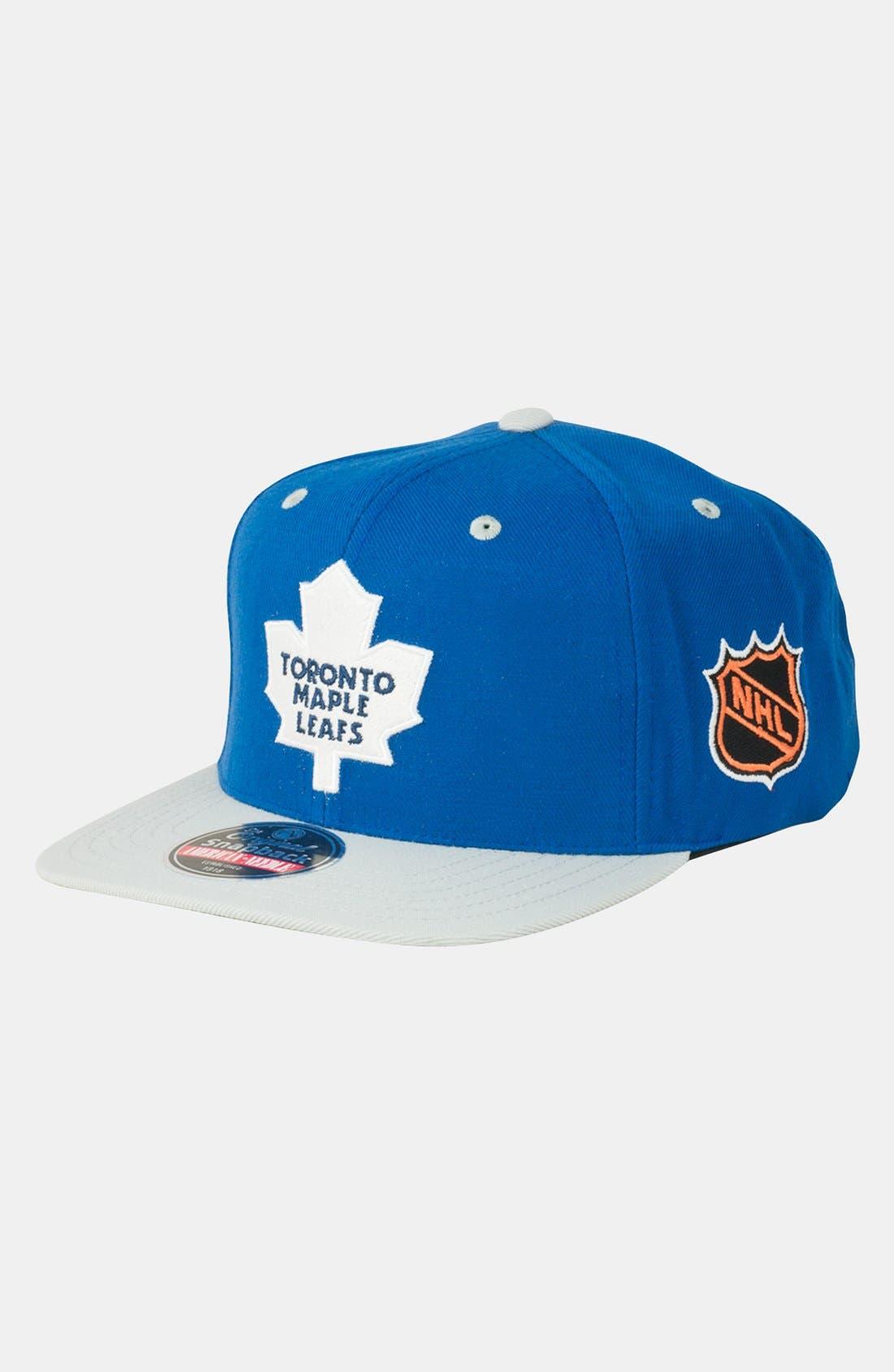 Main Image - American Needle 'Toronto Maple Leafs - Blockhead' Snapback Hockey Cap