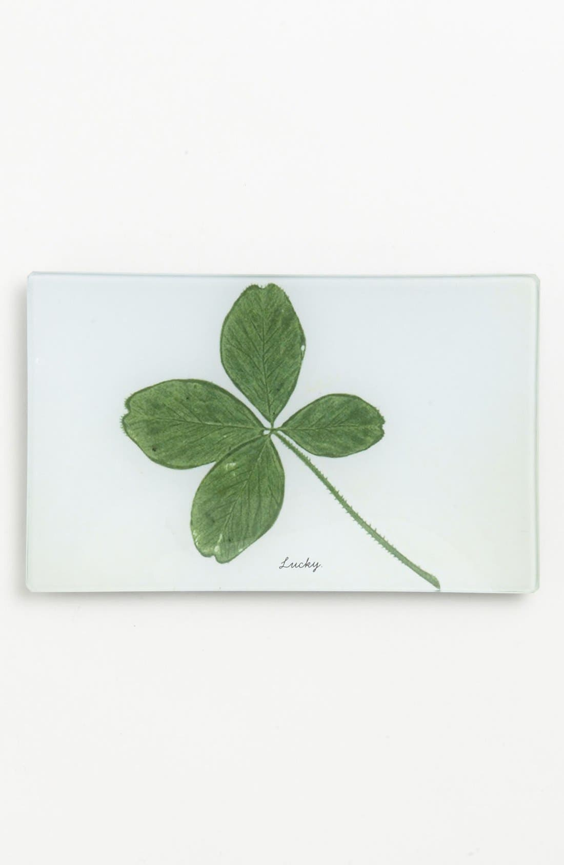 Alternate Image 1 Selected - Ben's Garden 'Lucky Four Leaf Clover' Trinket Tray