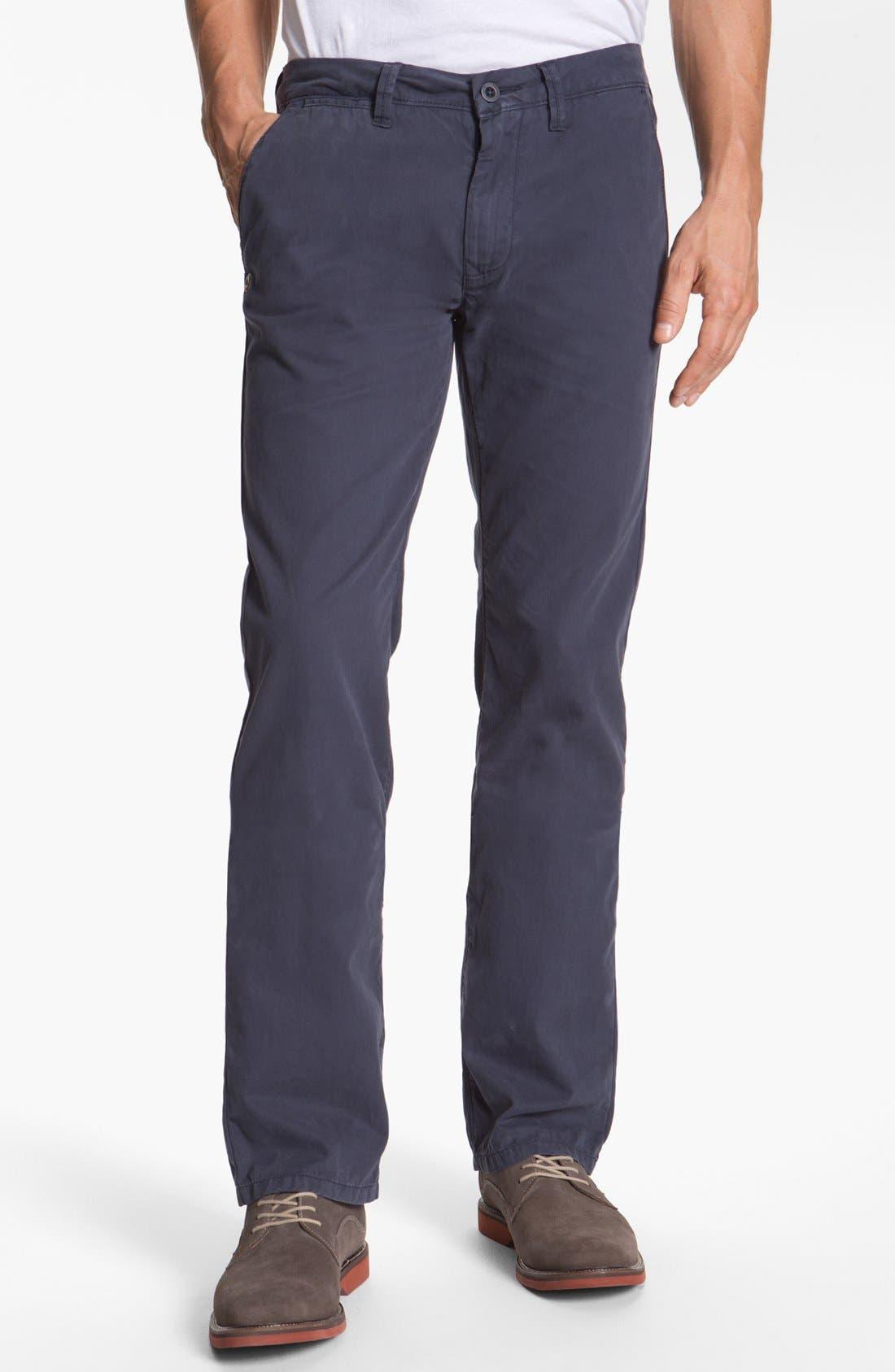 Alternate Image 1 Selected - Buffalo Jeans Flat Front Pants