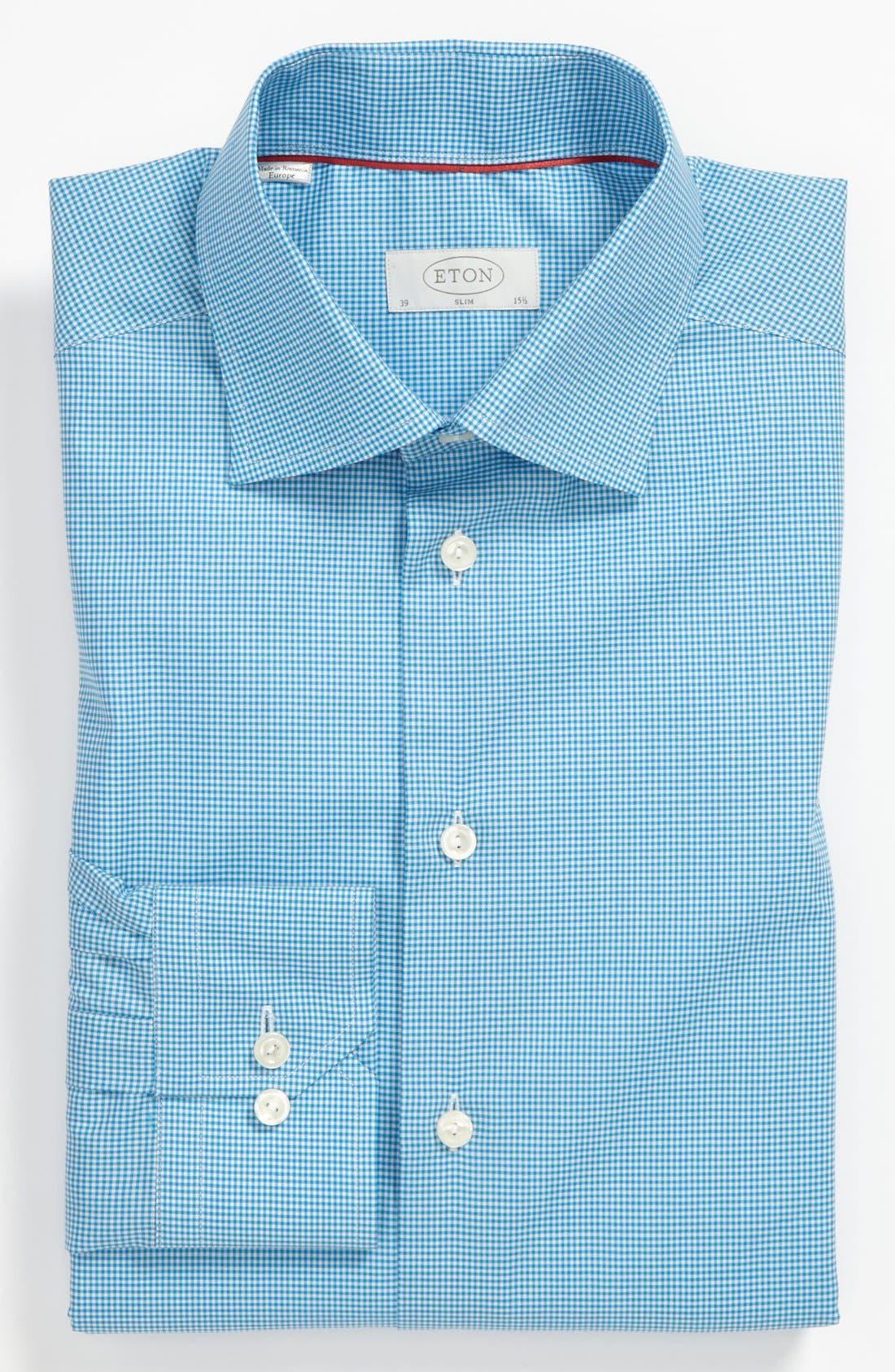 Alternate Image 1 Selected - Eton Slim Fit Dress Shirt