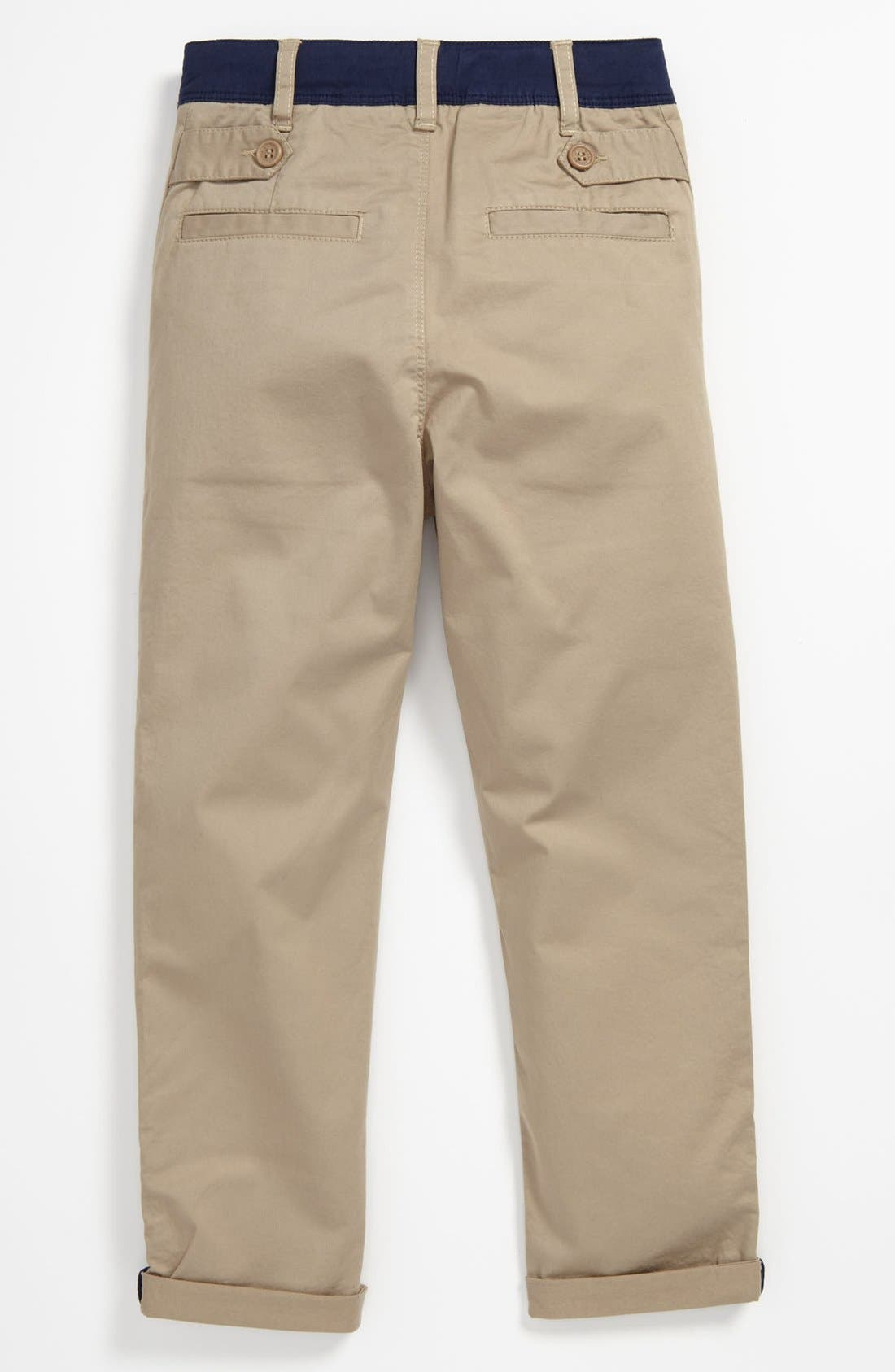 Alternate Image 2  - LITTLE MARC JACOBS Stretch Gabardine Pants (Big Boys)