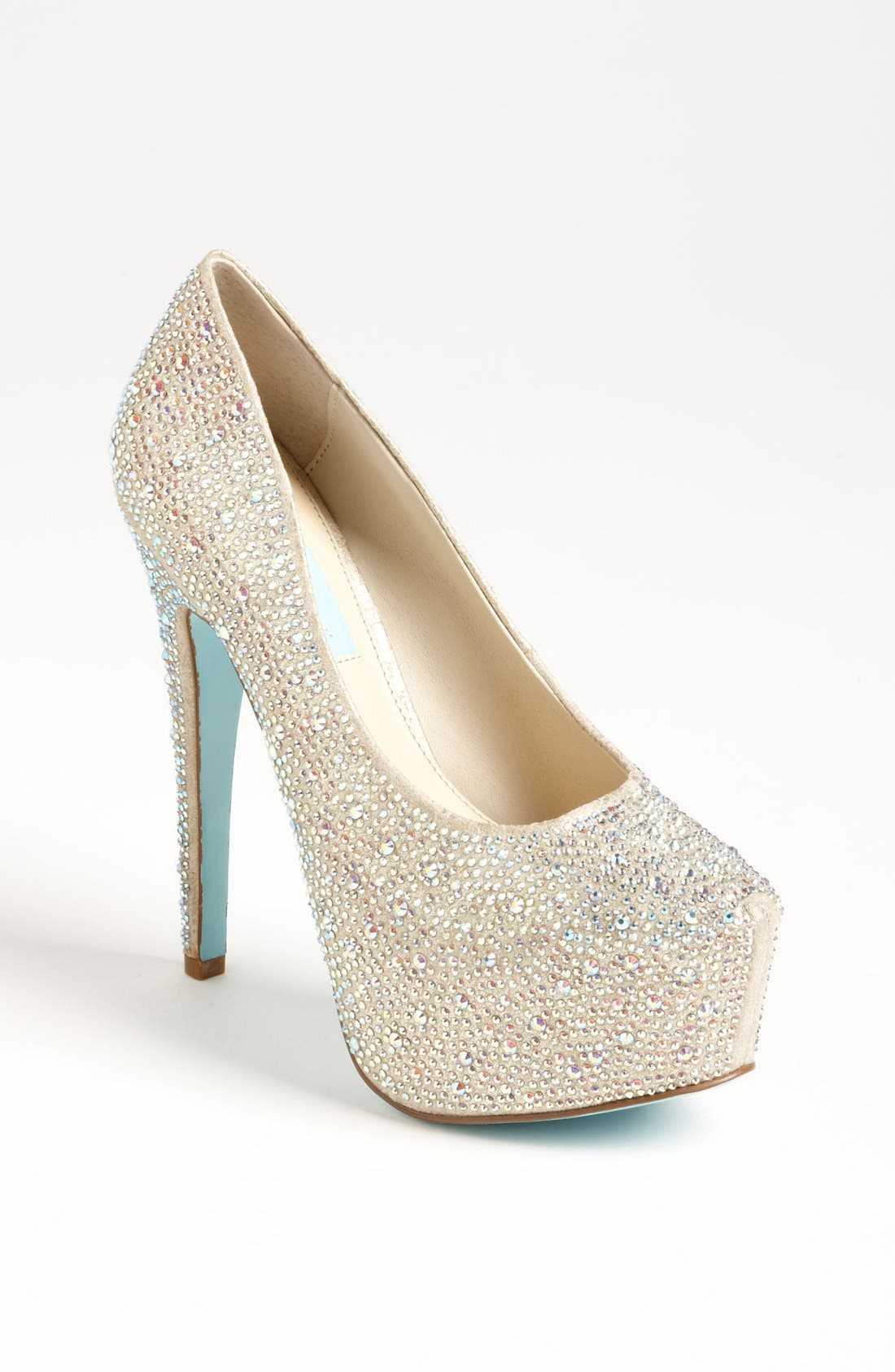 Alternate Image 1 Selected - Blue by Betsey Johnson 'Wish' Pump