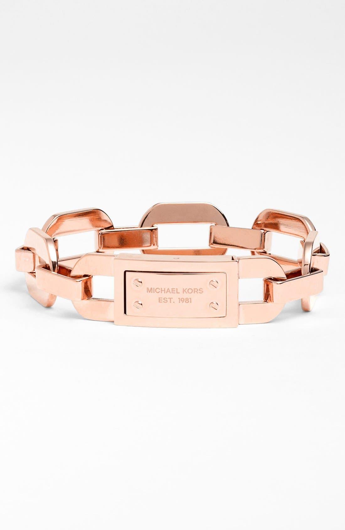 Alternate Image 1 Selected - Michael Kors Anchor Link Bracelet