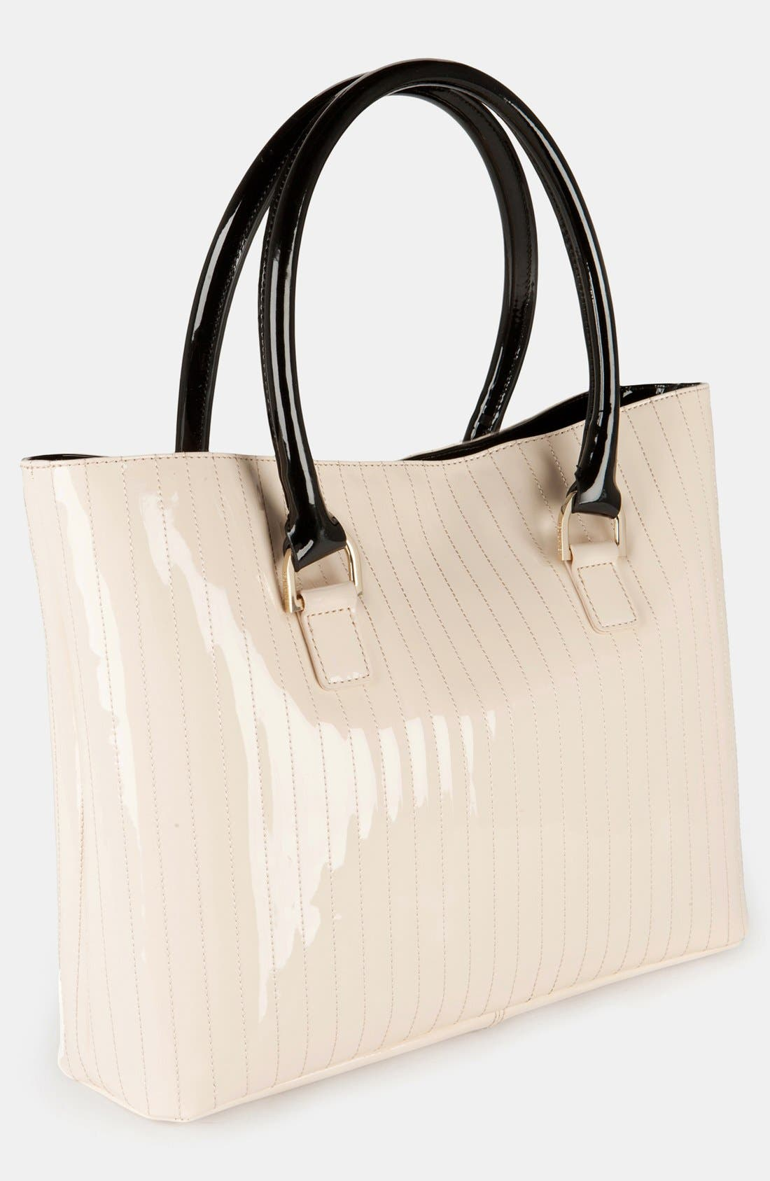 Alternate Image 2  - Ted Baker London 'Enamel - Colorblock' Quilted Faux Leather Shopper