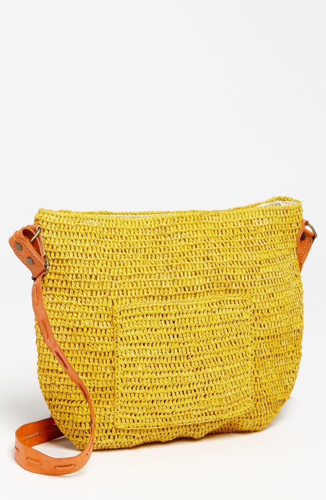 Alternate Image 1 Selected - Mar y Sol 'Sydney' Crocheted Crossbody Bag