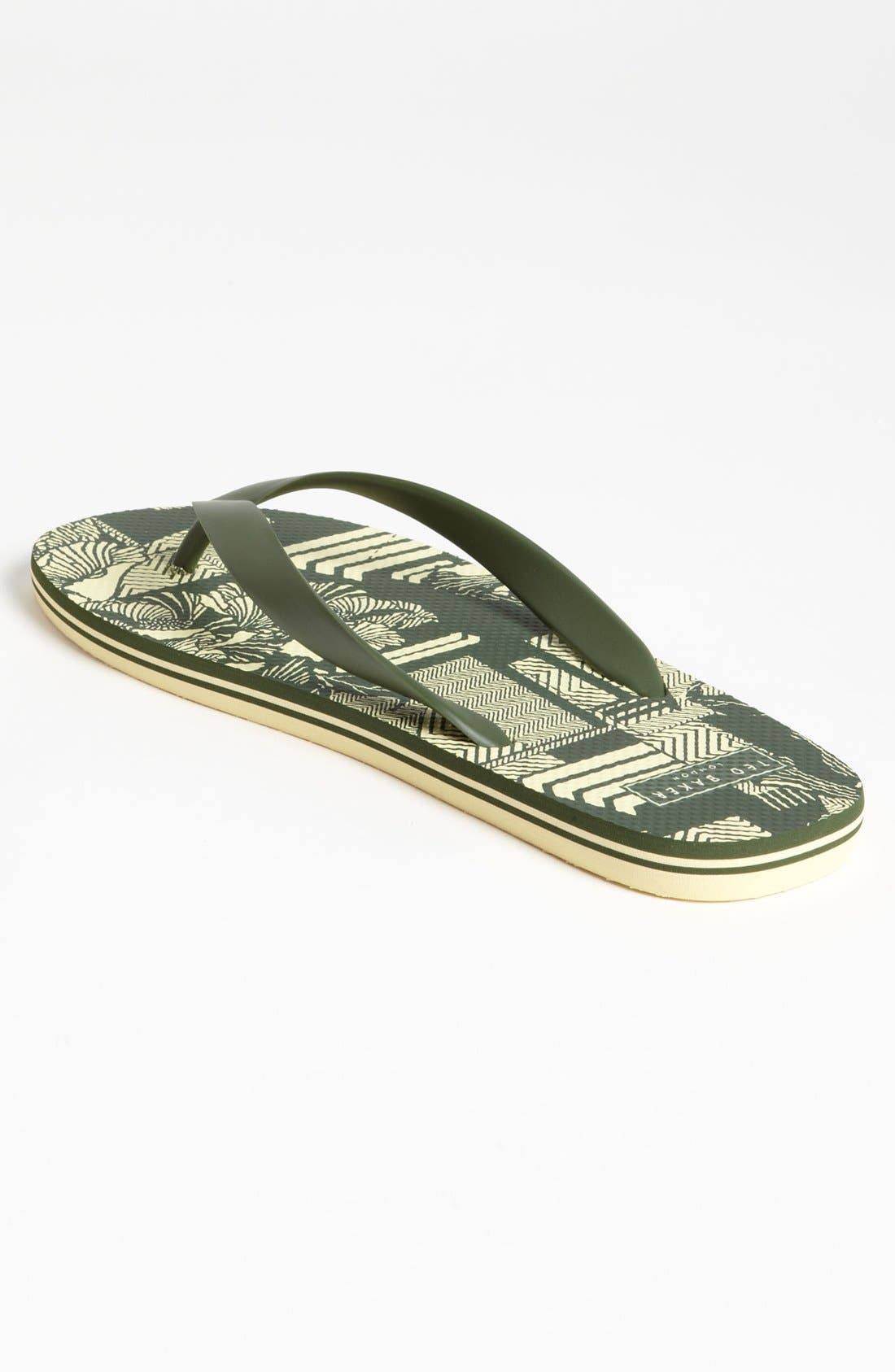 Alternate Image 2  - Ted Baker London 'Bual 3' Flip Flop (Men) (Online Only)