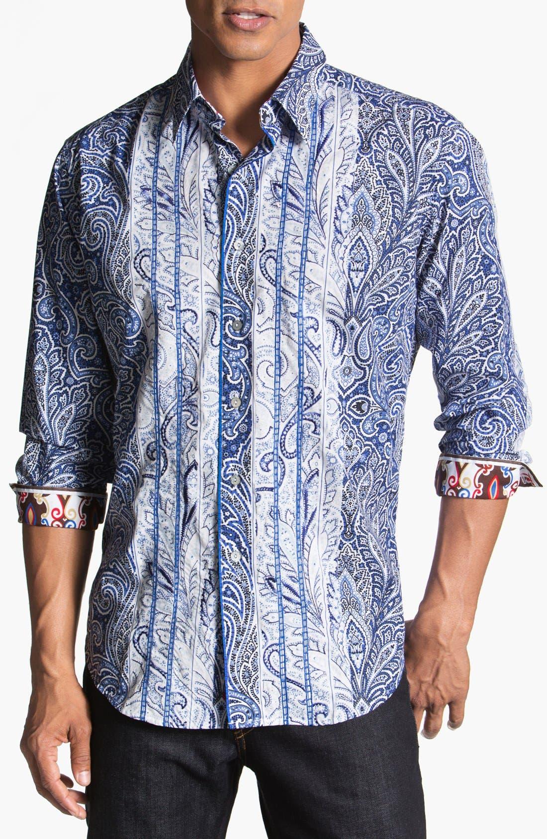 Alternate Image 1 Selected - Robert Graham 'Jaluca' Sport Shirt