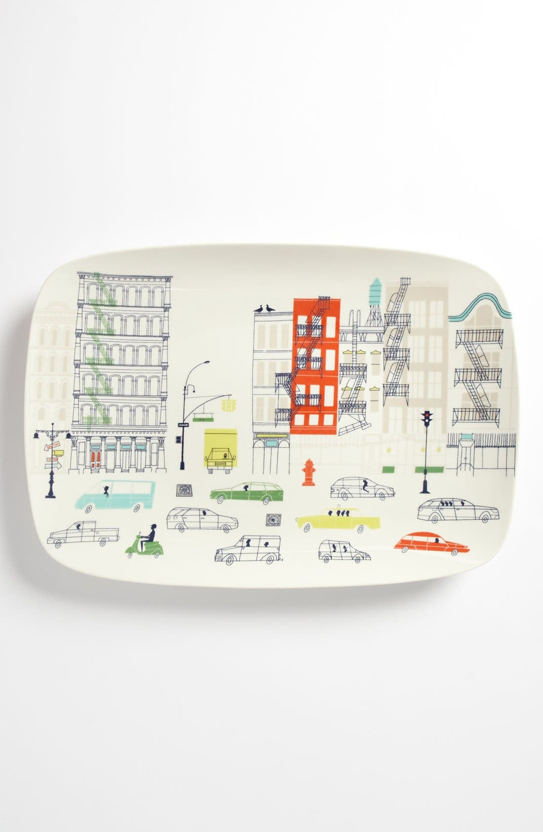 Alternate Image 1 Selected - kate spade new york 'hopscotch drive about town' oblong platter