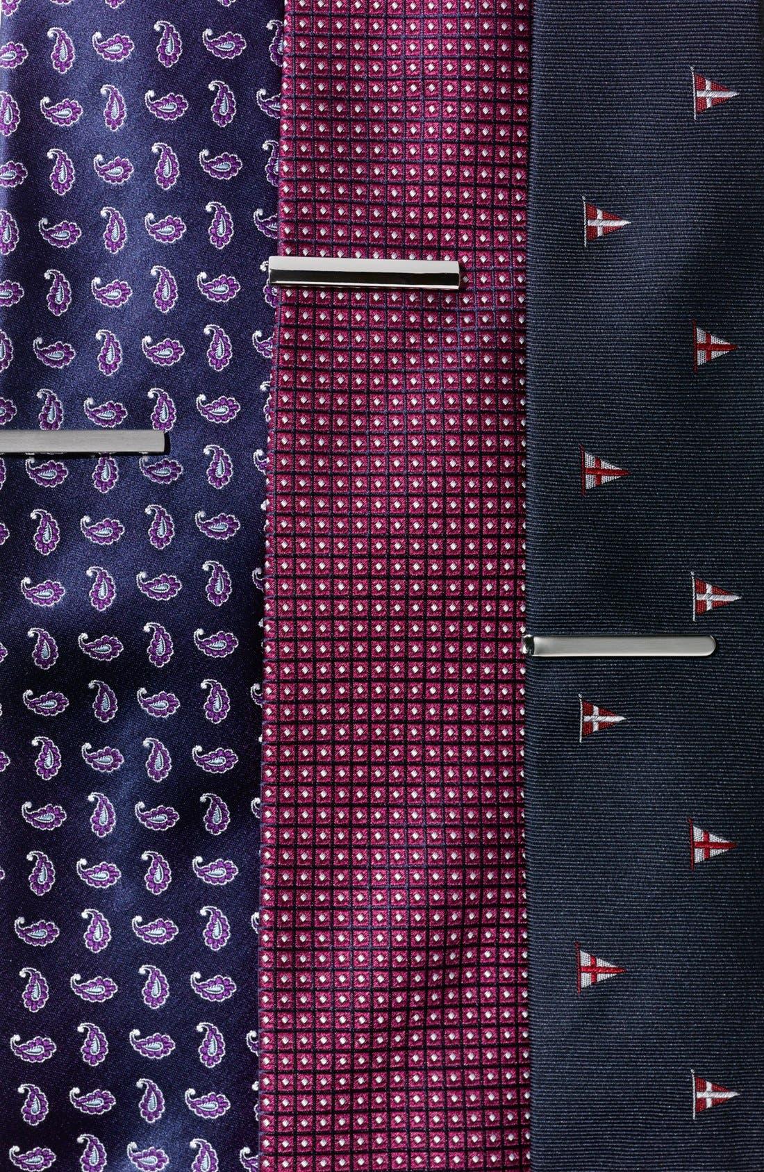Alternate Image 4  - BOSS Black Woven Silk Tie