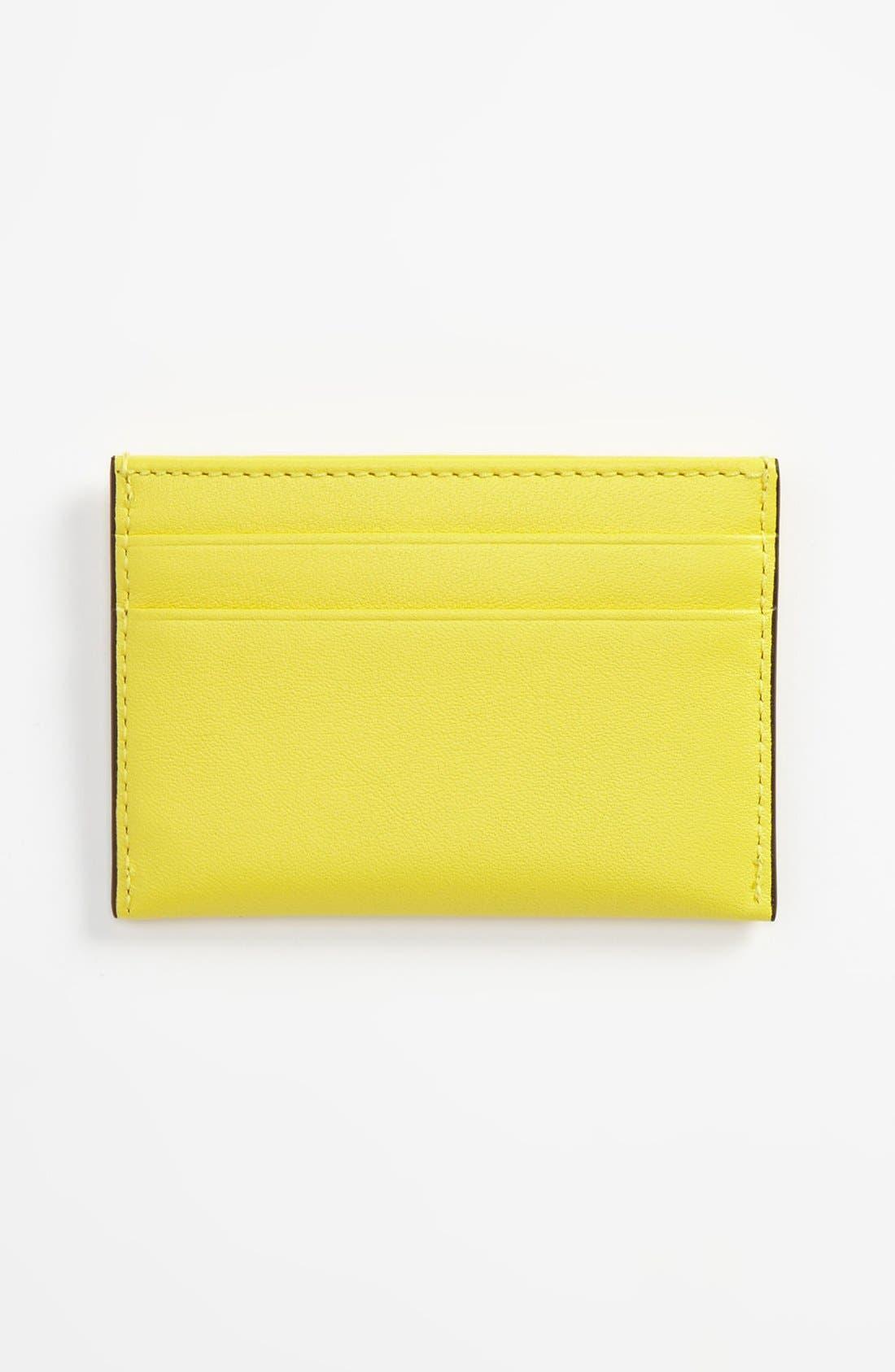 Alternate Image 2  - COACH 'Legacy' Leather Card Case