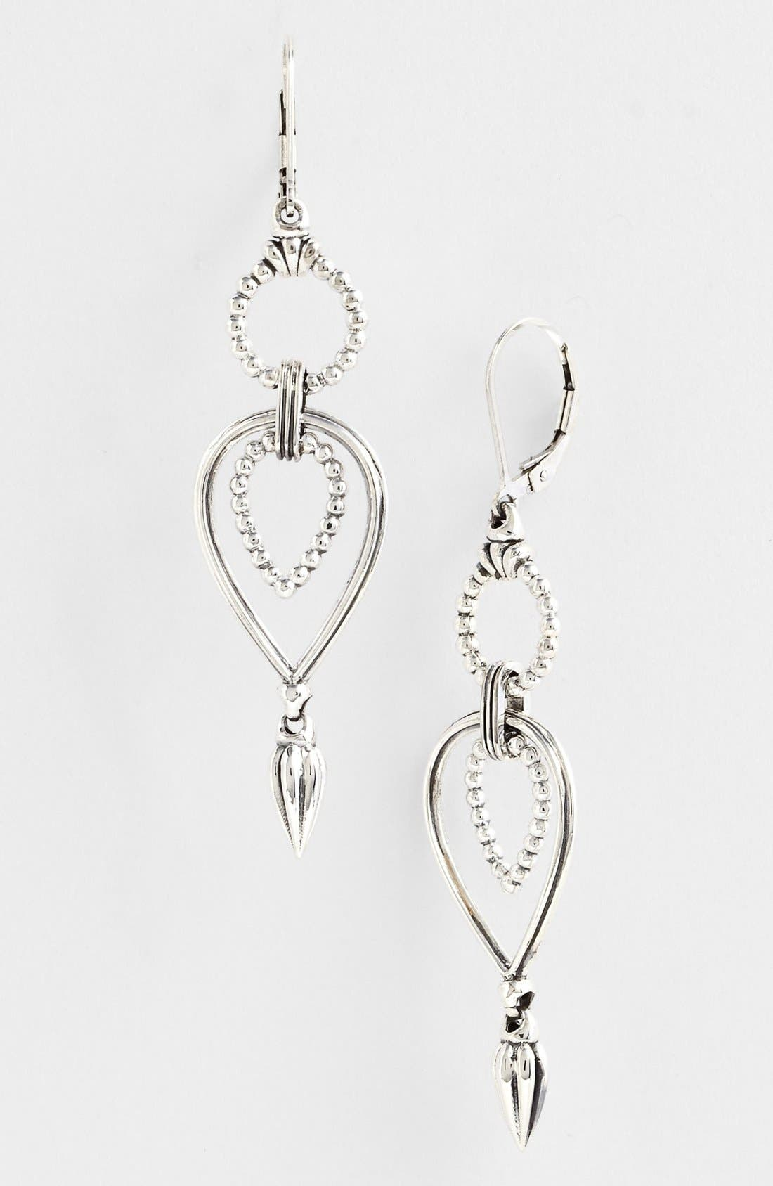Alternate Image 1 Selected - Lagos Open Drop Earrings
