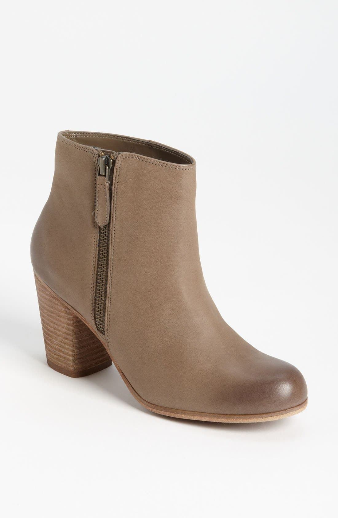 'Trolley'  Bootie,                             Main thumbnail 1, color,                             Grey Leather