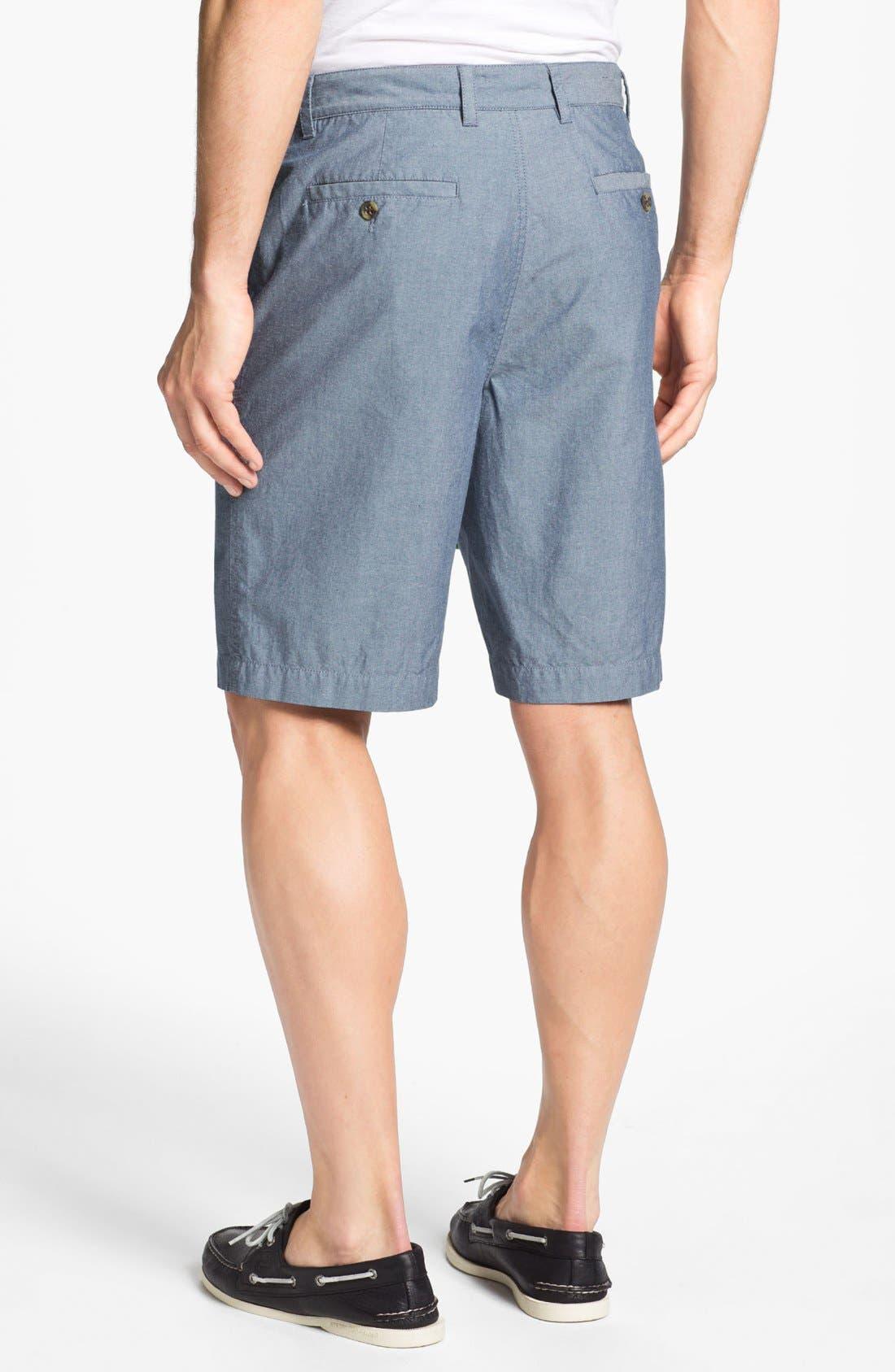 Alternate Image 2  - Wallin & Bros. 'Lanspur' Chambray Shorts