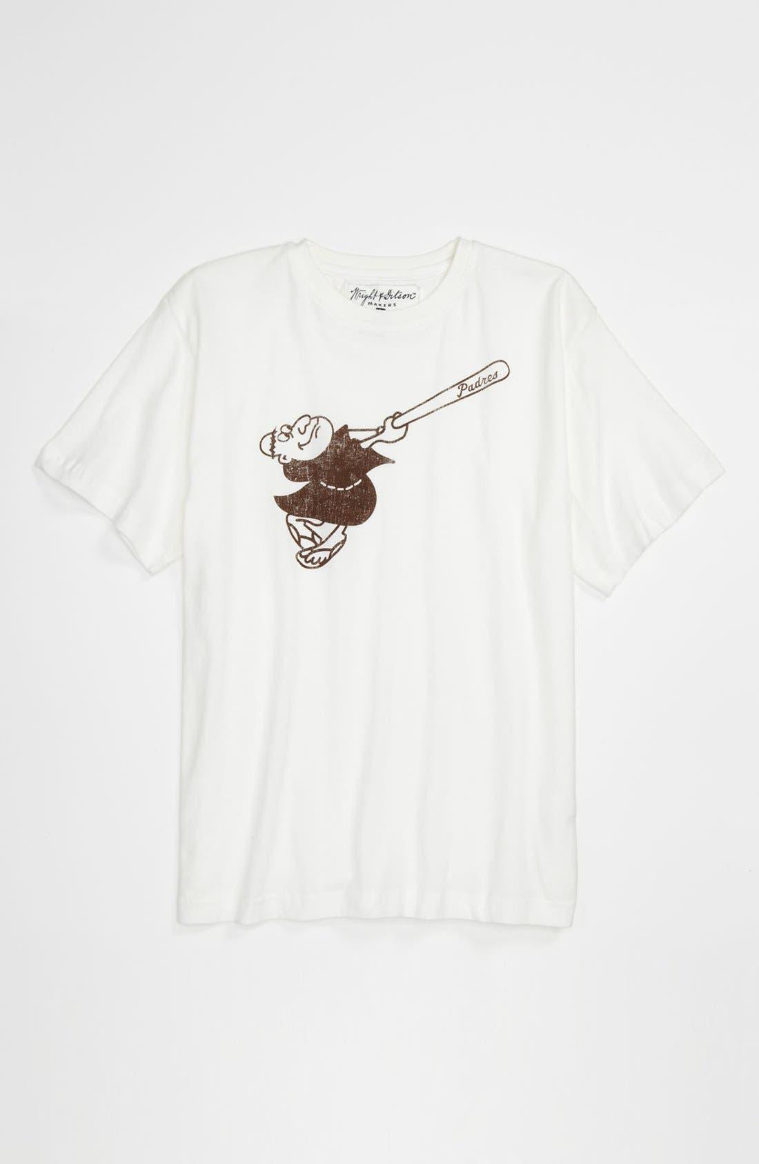 Alternate Image 1 Selected - Wright & Ditson 'San Diego Padres' T-Shirt (Little Boys & Big Boys)