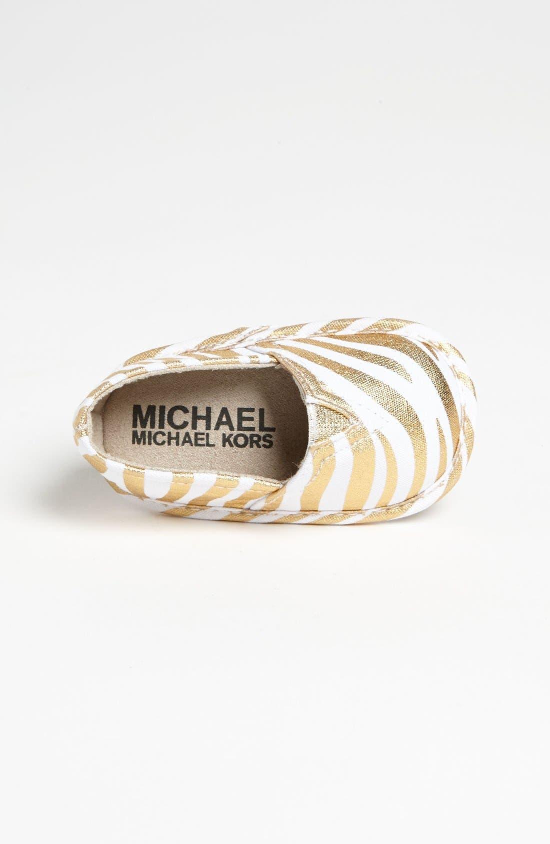 Alternate Image 3  - MICHAEL Michael Kors Slip-On (Baby)