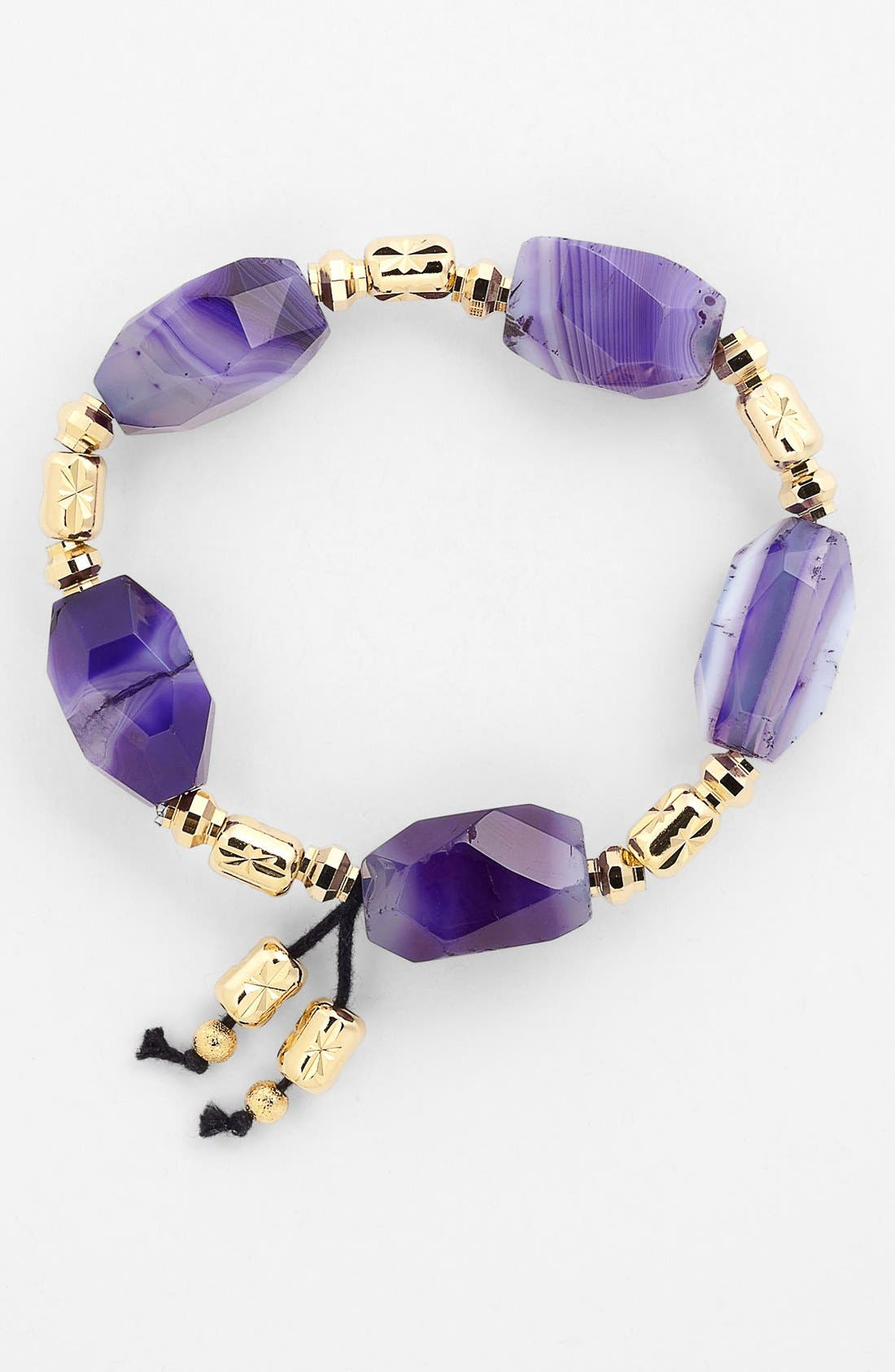 Alternate Image 1 Selected - Nordstrom 'Grotto' Bead Stretch Bracelet