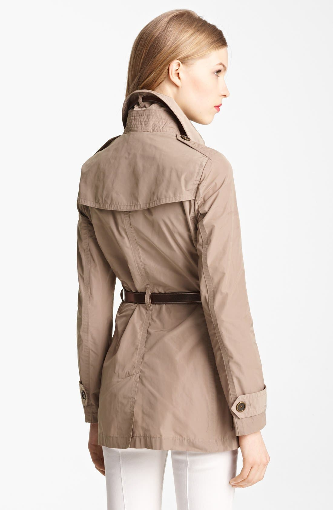 Alternate Image 2  - Burberry Brit 'Alcester' Double Breasted Trench (Online Only)