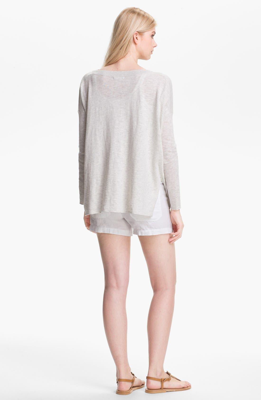 Alternate Image 2  - Vince Cotton Sweater