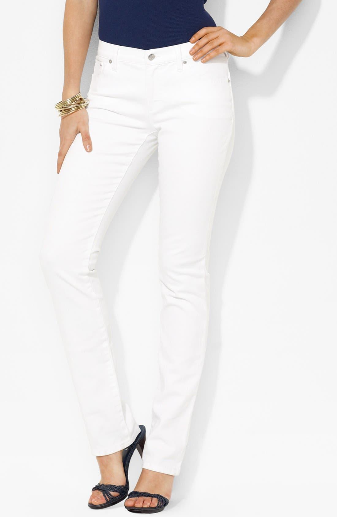 Alternate Image 1 Selected - Lauren Ralph Lauren Skinny Jeans