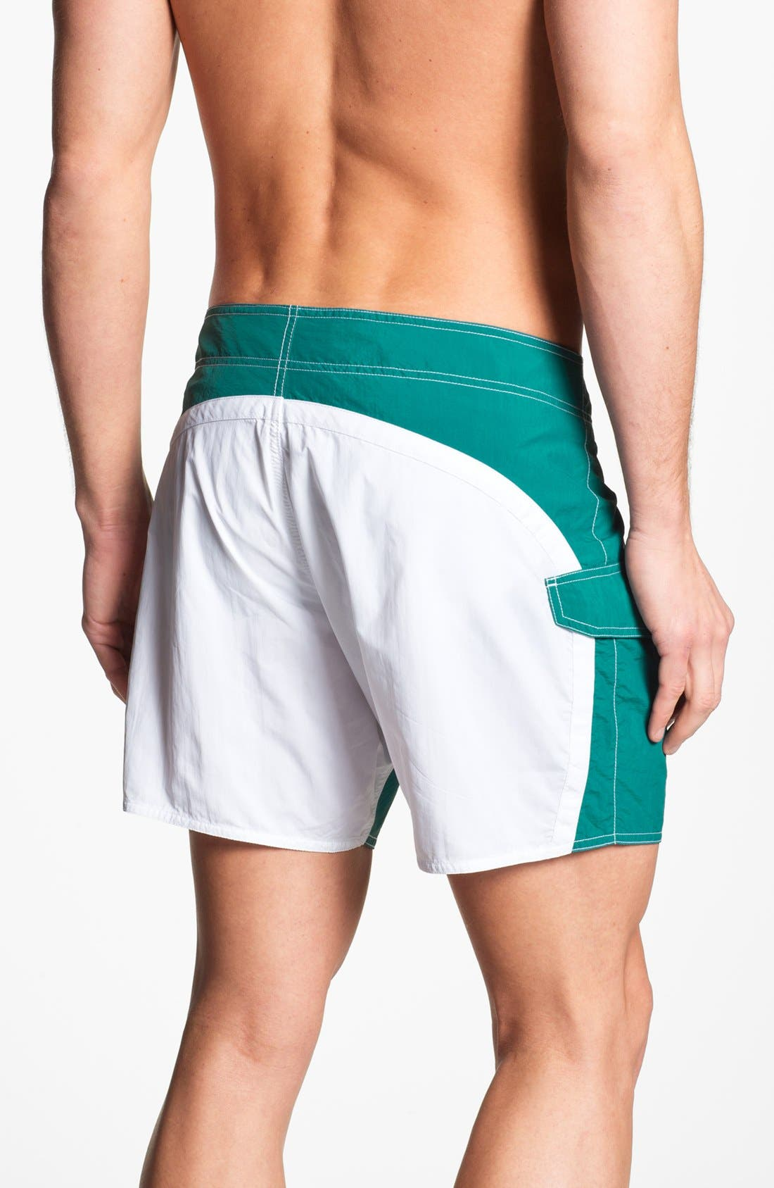Alternate Image 2  - Emporio Armani Board Shorts