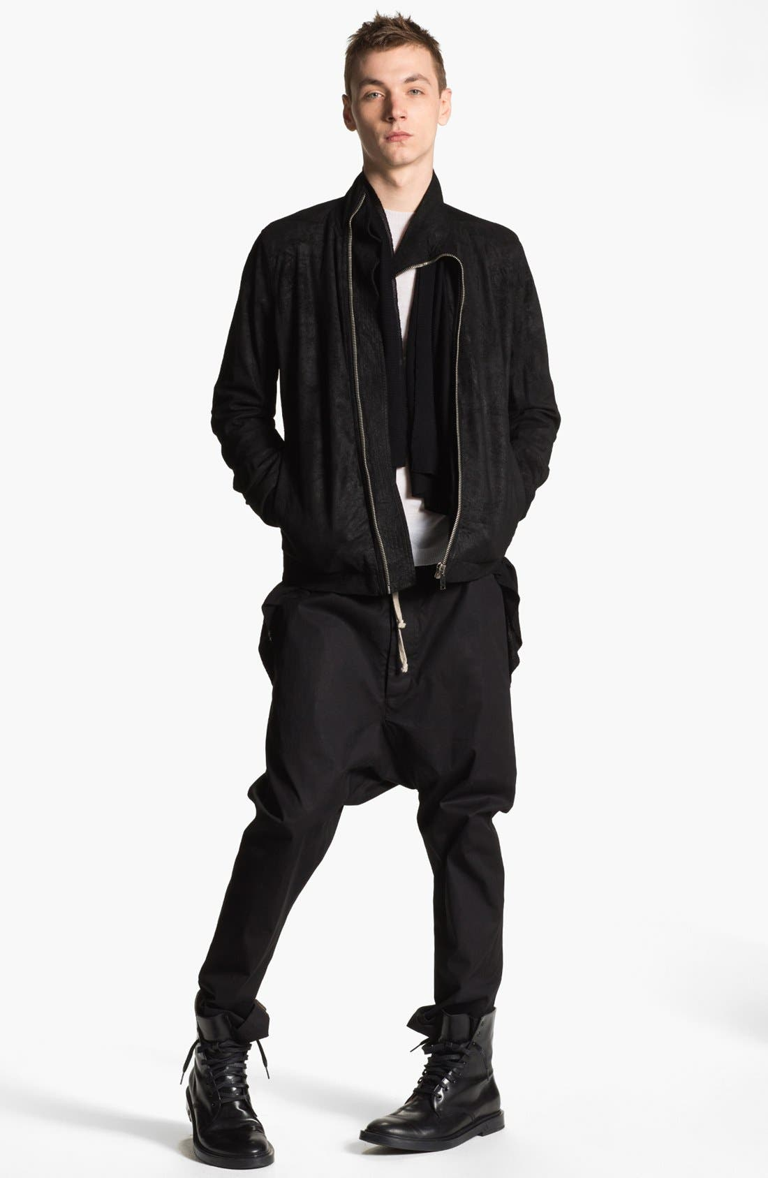 Alternate Image 6  - Rick Owens 'Island' Open Shawl Collar Sweater