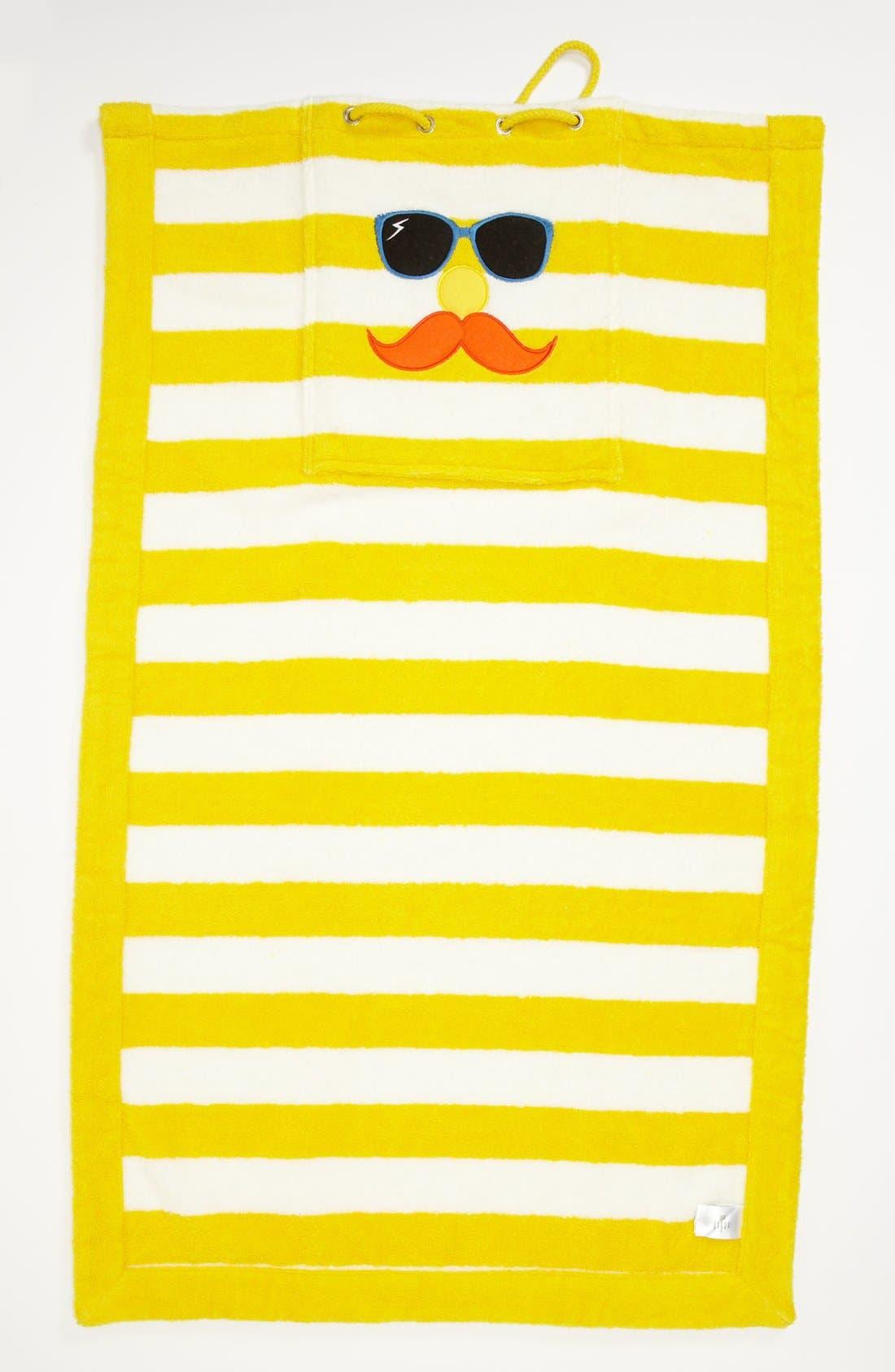 Alternate Image 2  - Stella McCartney Stripe Towel & Bag (Kids)
