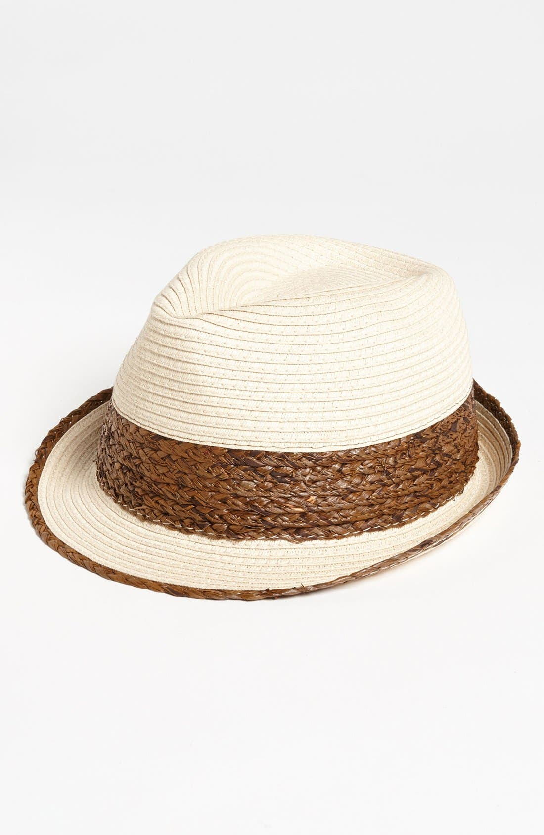 Alternate Image 1 Selected - BP. Two Tone Straw Fedora