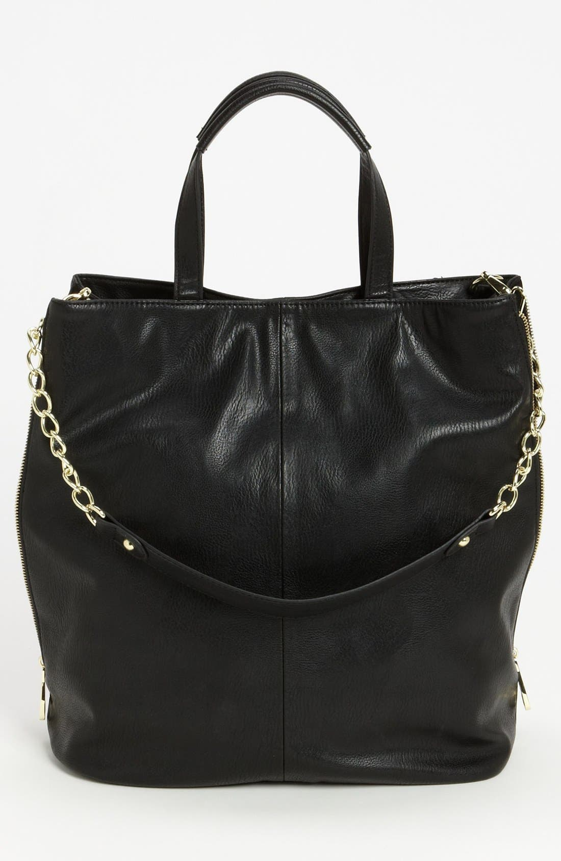 Alternate Image 4  - Steve Madden Studded Faux Leather Tote, Large