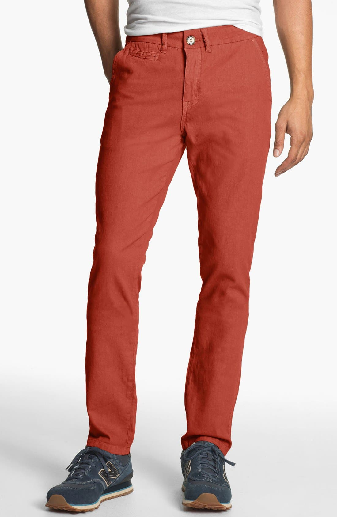 Alternate Image 1 Selected - Ezekiel 'Topsider' Slim Skinny Leg Chinos