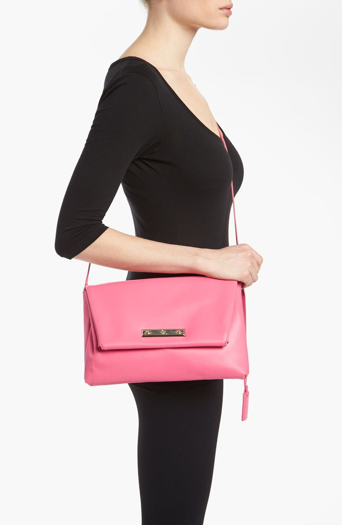 Alternate Image 2  - McQ by Alexander McQueen 'Albion' Nappa Leather Crossbody Bag, Small
