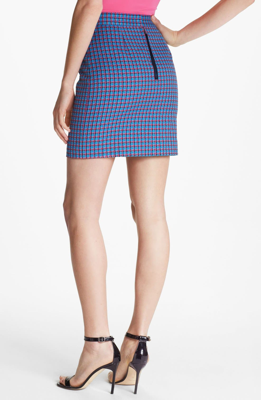 Alternate Image 2  - MARC BY MARC JACOBS 'Clover' Check Miniskirt