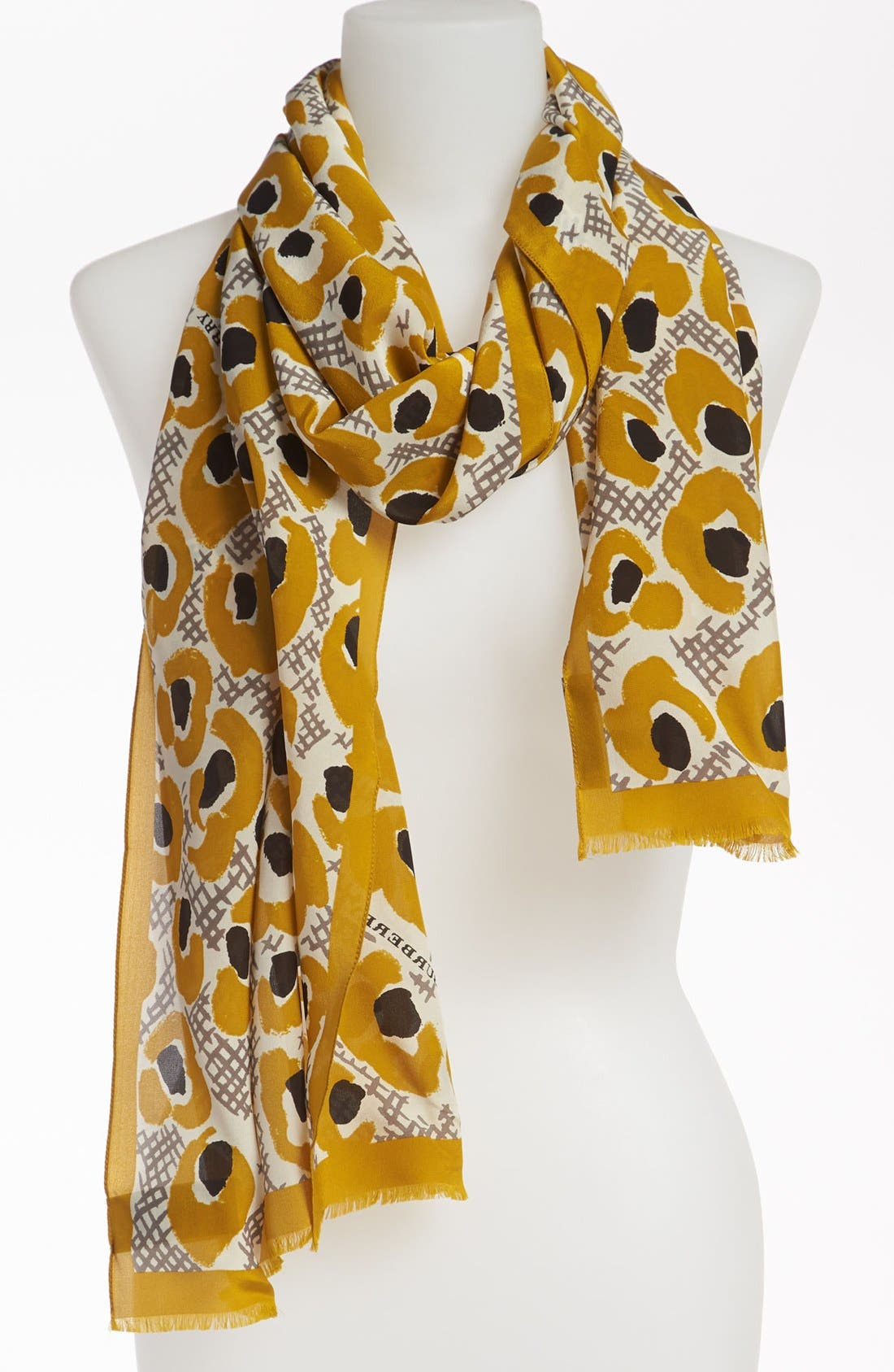 Alternate Image 1 Selected - Burberry Print Silk Scarf