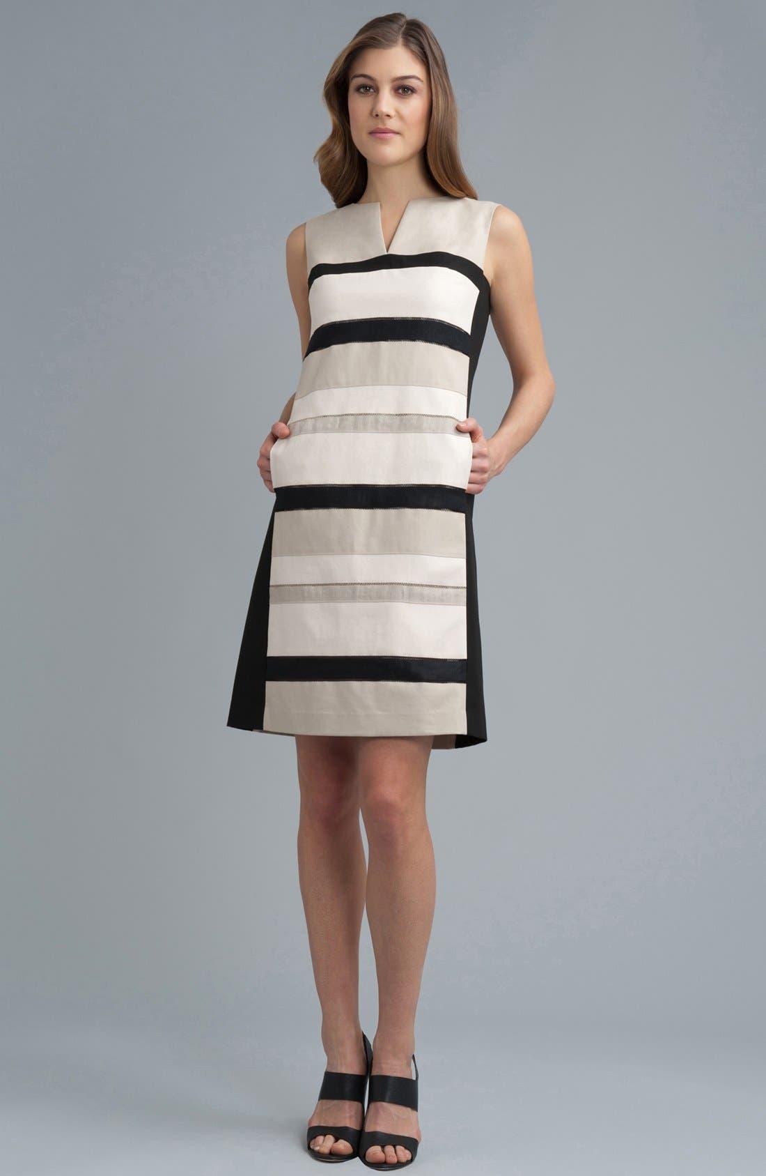 Alternate Image 4  - Lafayette 148 New York 'Noel - Metropolitan Stretch' Dress (Online Only)