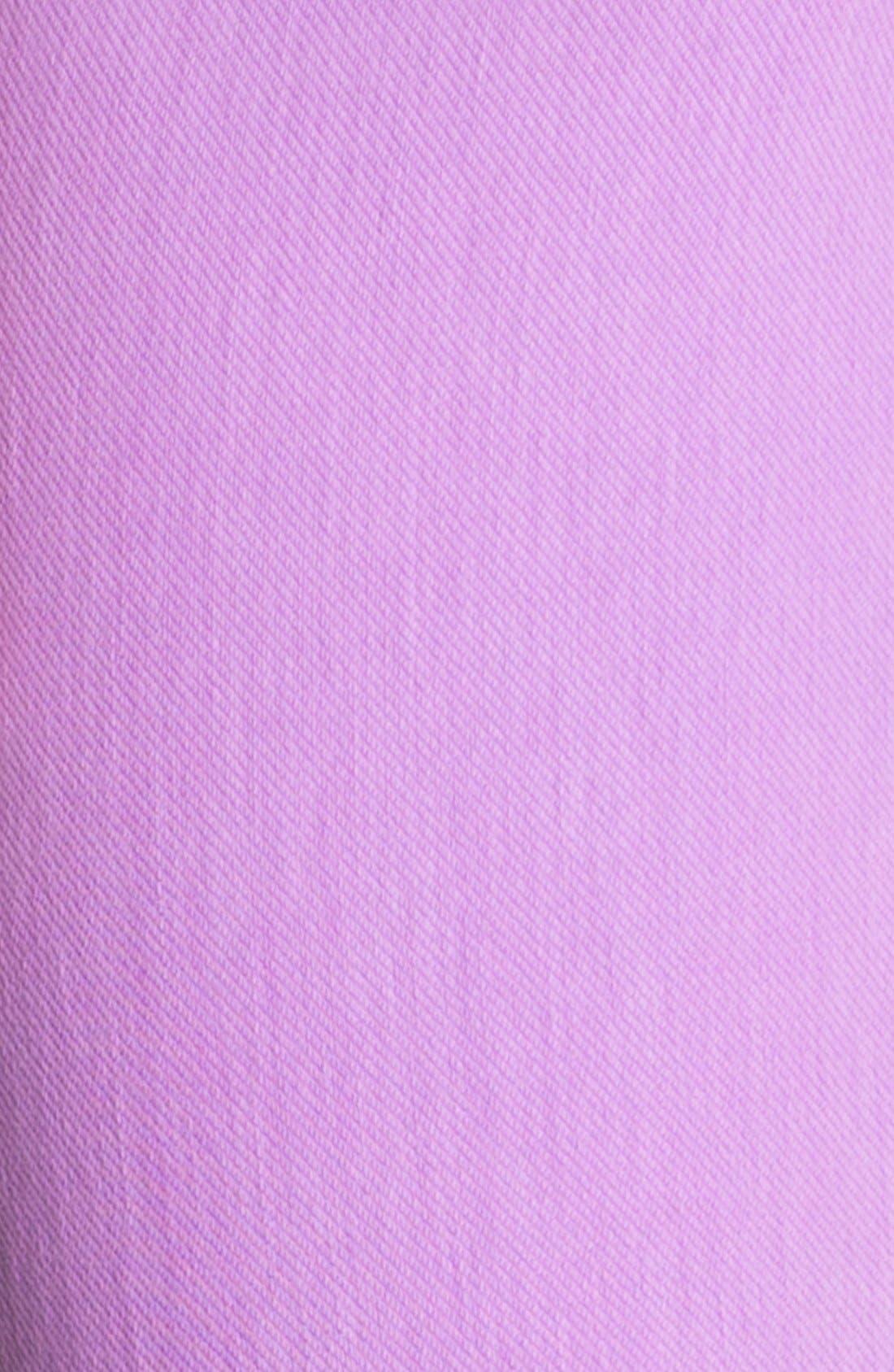 Alternate Image 2  - Hue 'Neon Chinos' Capri Leggings
