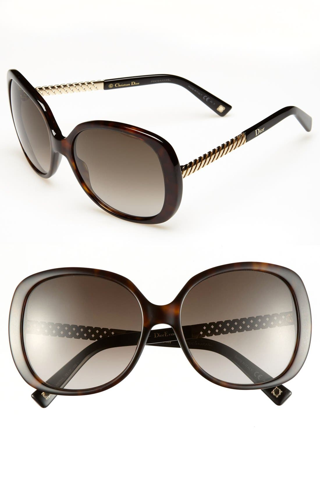 Main Image - Dior 'Ever' 58mm Sunglasses