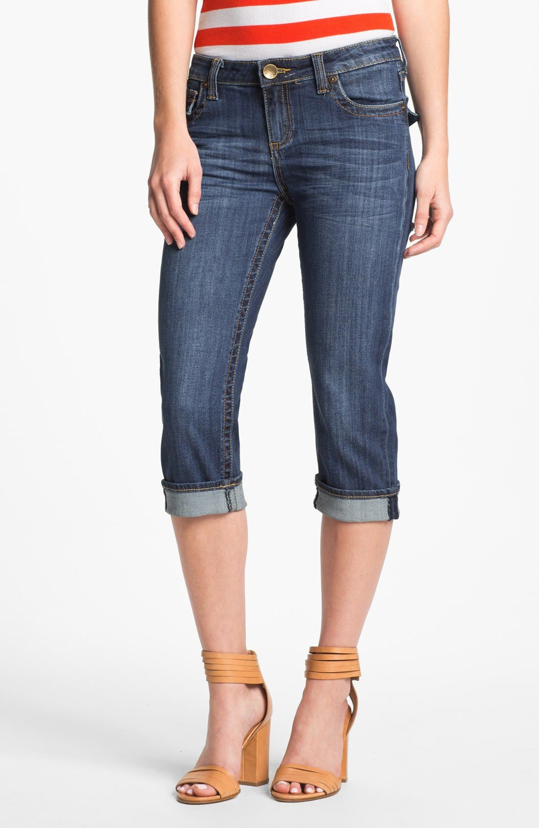 Alternate Image 1 Selected - KUT from the Kloth 'Natalie' Crop Jeans