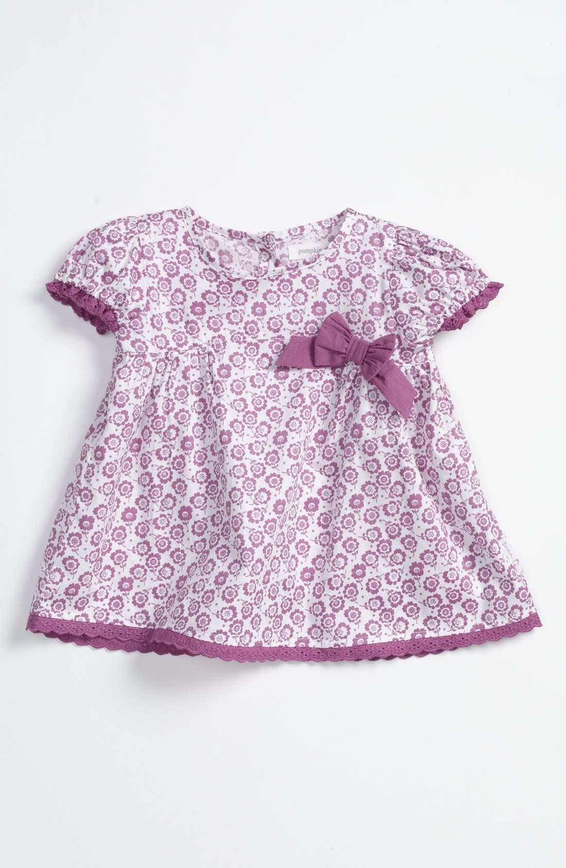 Main Image - Pumpkin Patch Bow Top (Baby)
