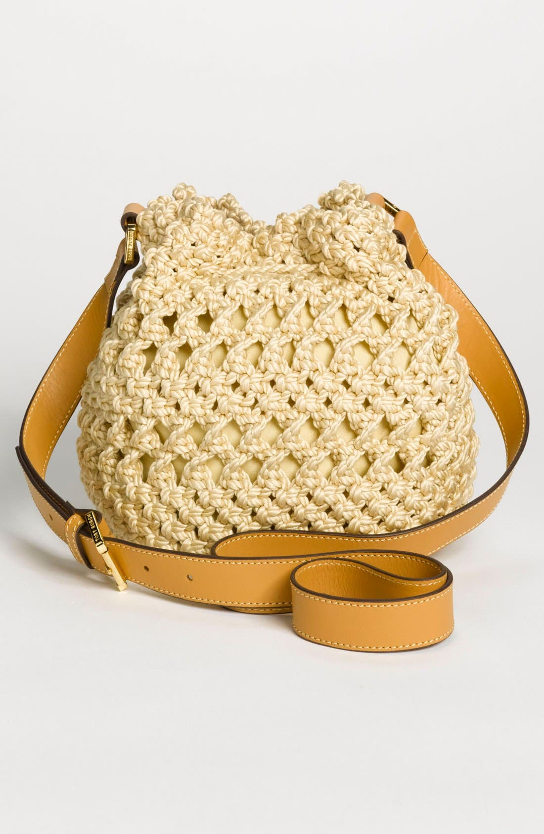 Alternate Image 4  - Tory Burch 'Dawson - Small' Crocheted Bucket Bag