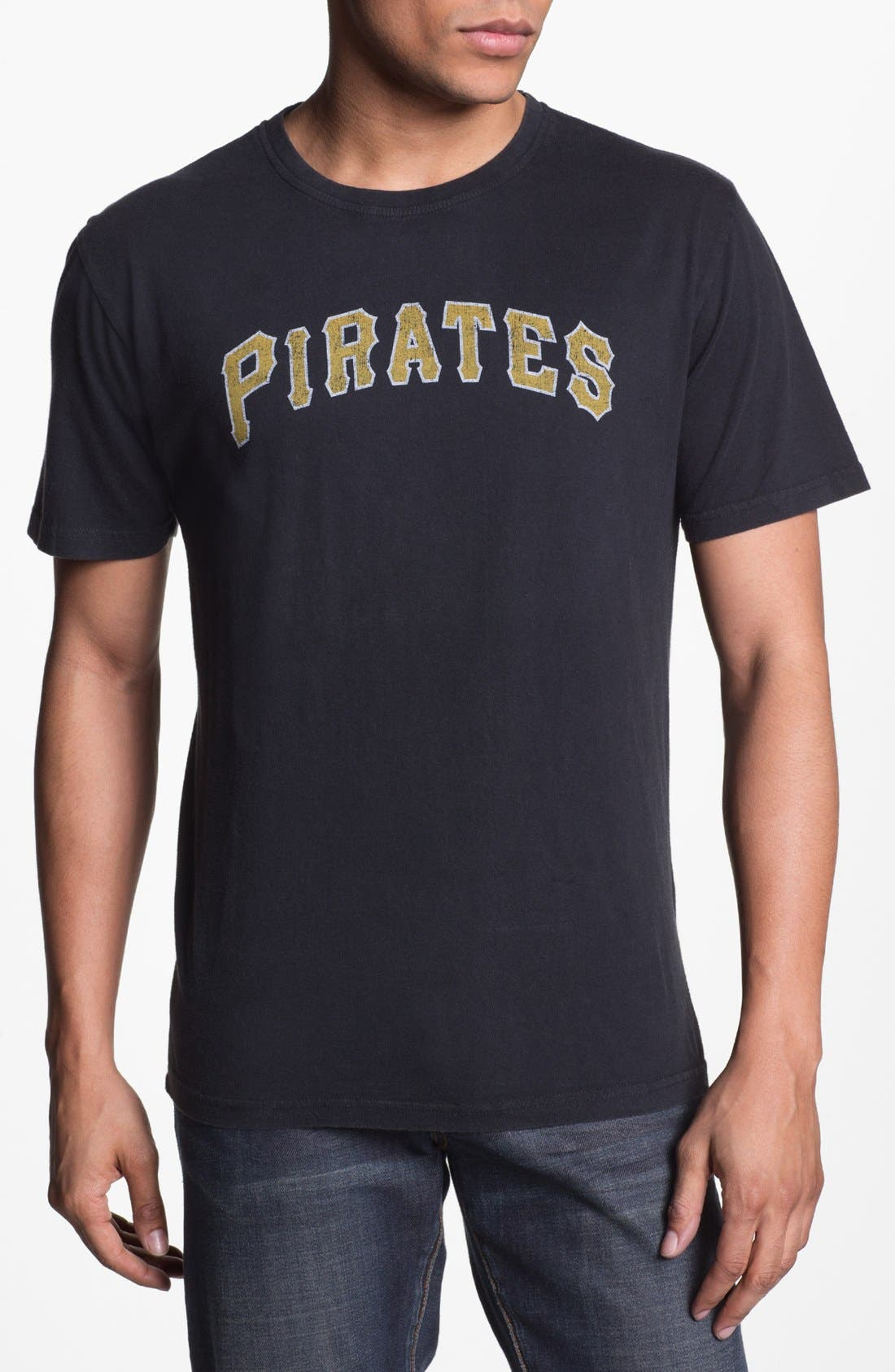 Alternate Image 1 Selected - Red Jacket 'Pirates - Brass Tack' T-Shirt