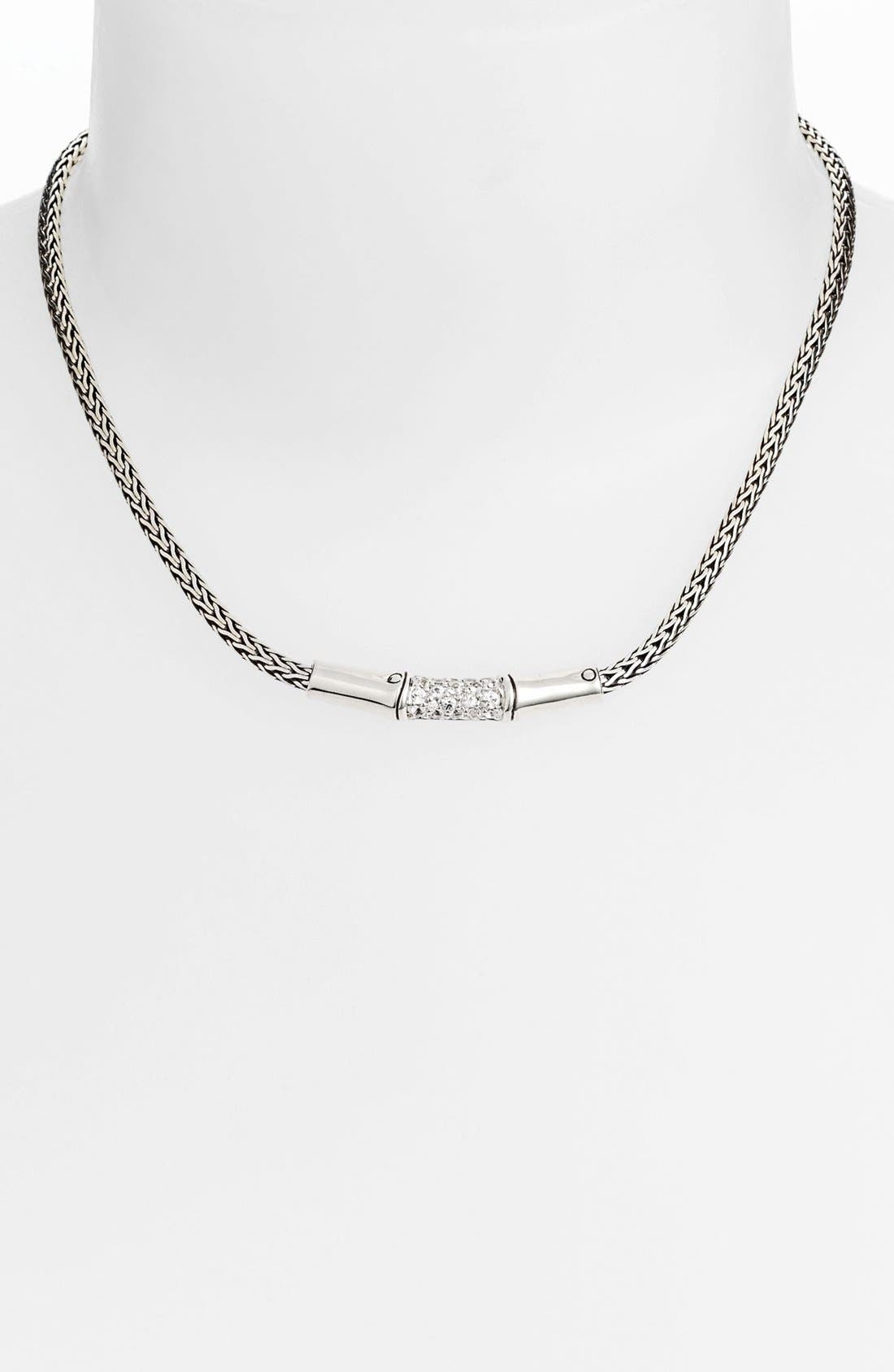 Alternate Image 1 Selected - John Hardy 'Bamboo - Lava' Chain Necklace