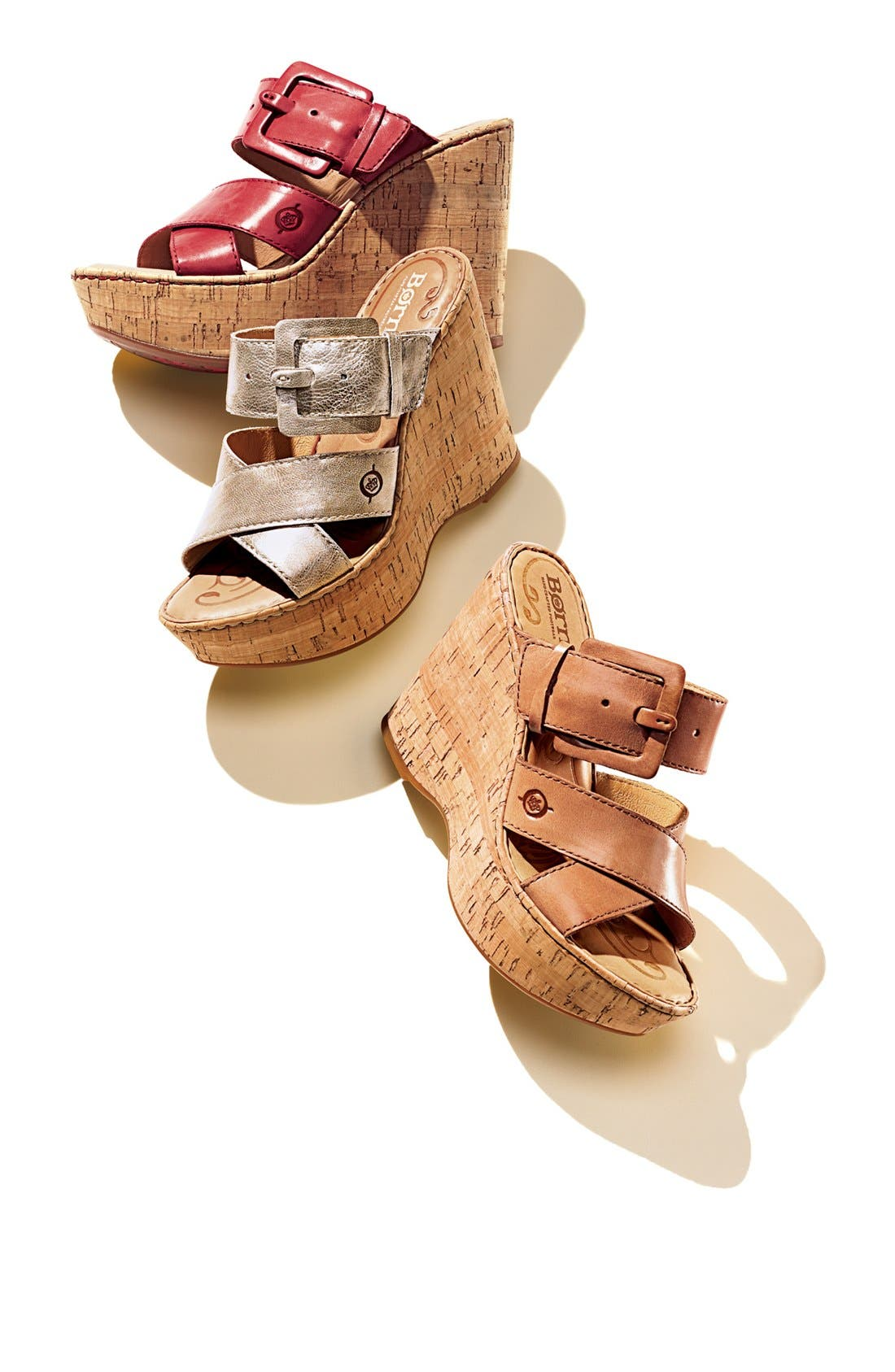 Alternate Image 5  - Børn 'Beau' Wedge Sandal (Nordstrom Exclusive)