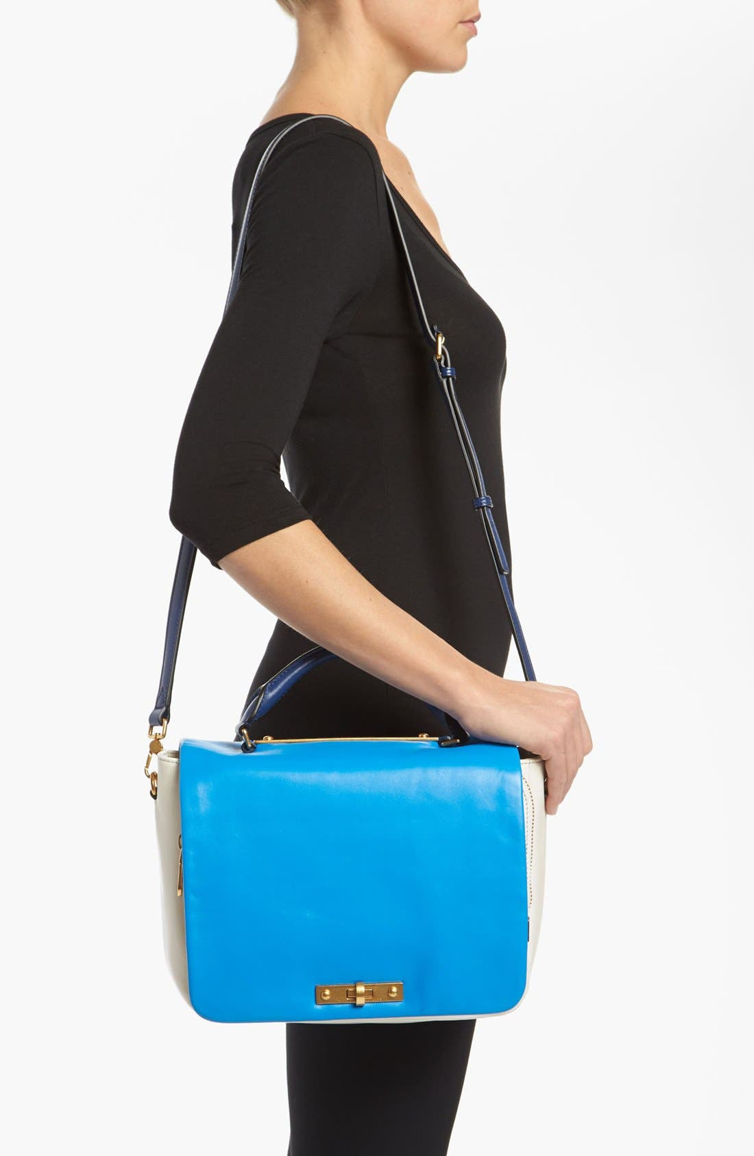 Alternate Image 2  - MARC BY MARC JACOBS 'Goodbye Columbus' Leather Satchel