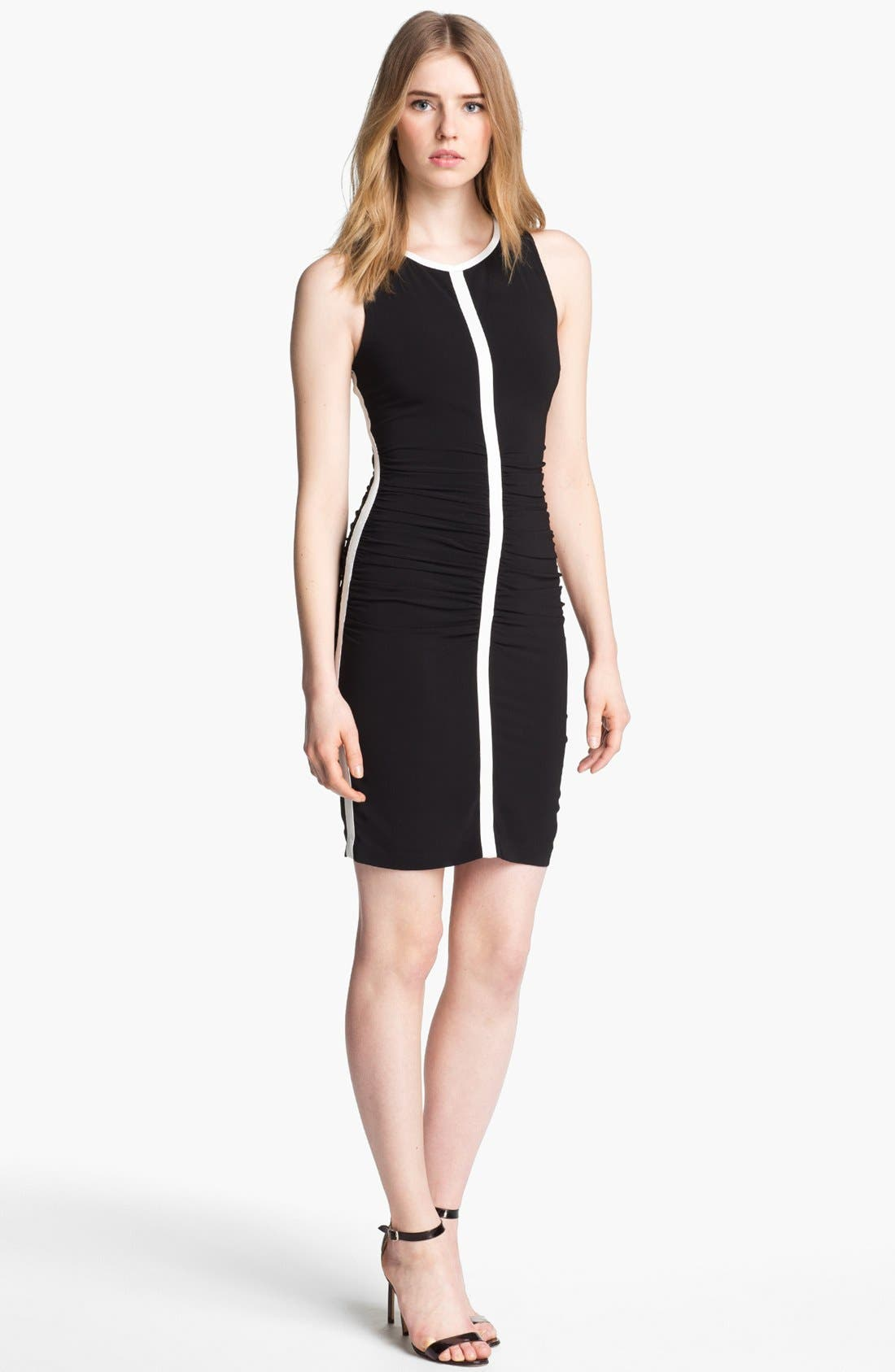 Alternate Image 1 Selected - Tracy Reese Crisscross Back Ruched Dress