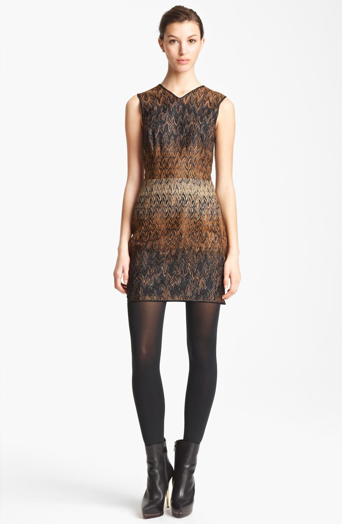 Alternate Image 1 Selected - Missoni Flame Stitch Knit Dress
