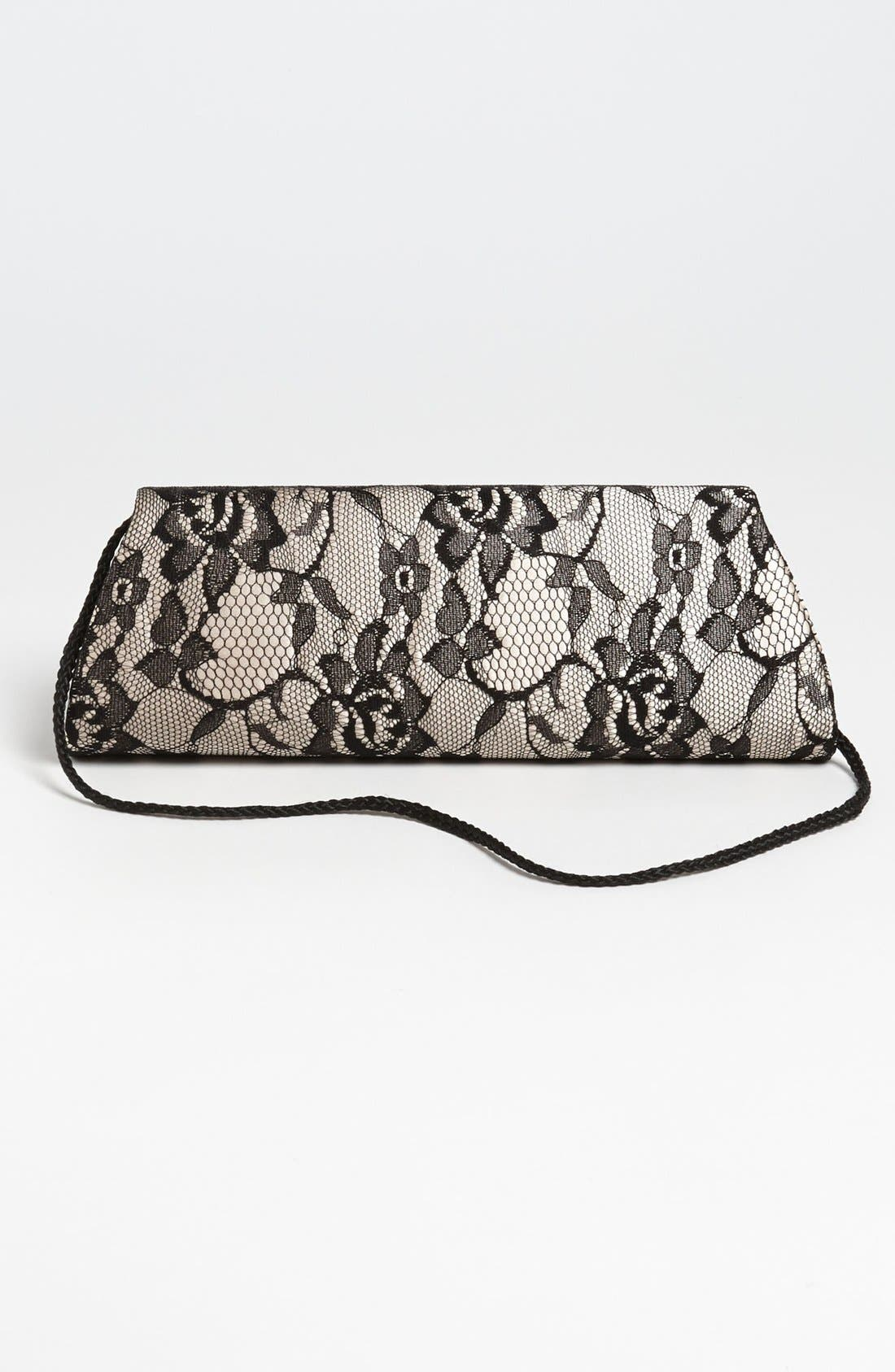 Alternate Image 4  - Jessica McClintock Lace Envelope Clutch