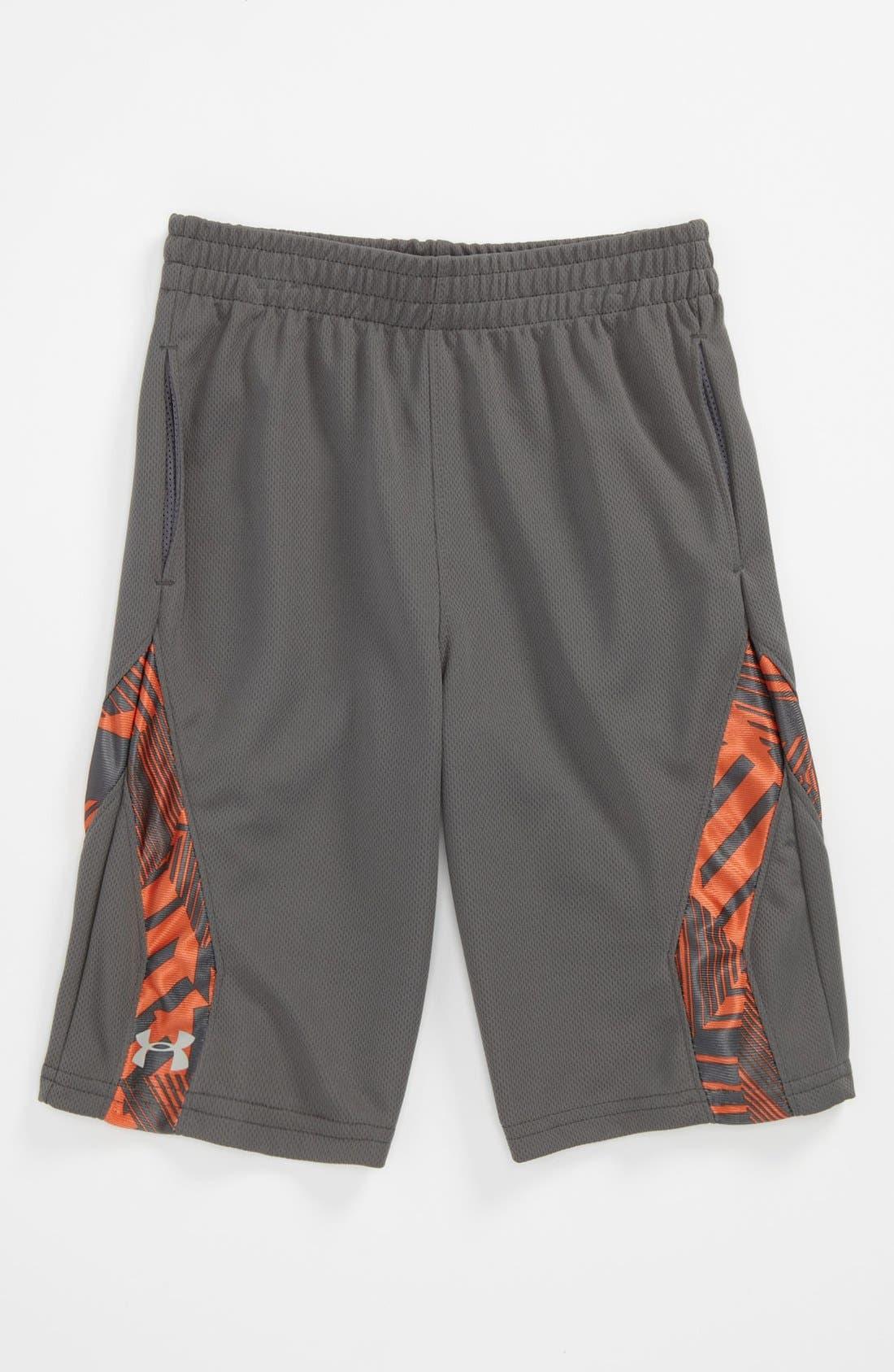 Main Image - Under Armour Shorts (Little Boys)