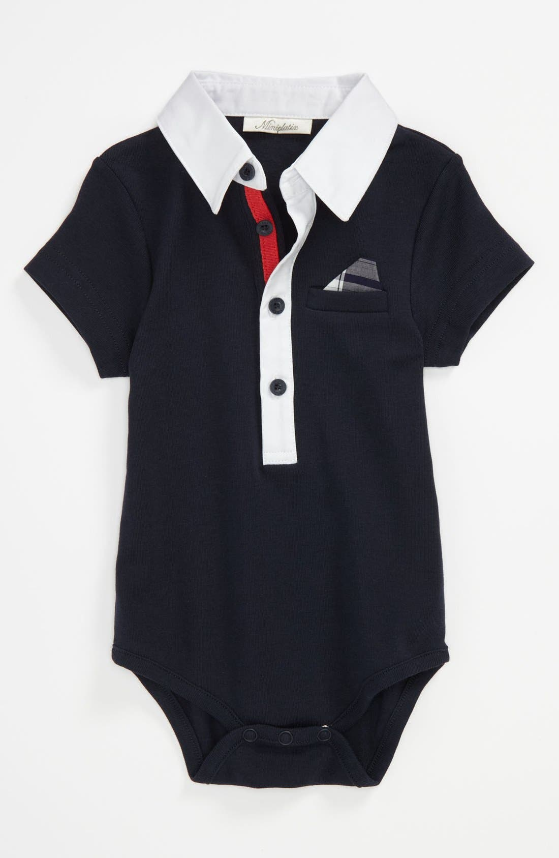 Alternate Image 1 Selected - Miniclasix Bodysuit (Baby)